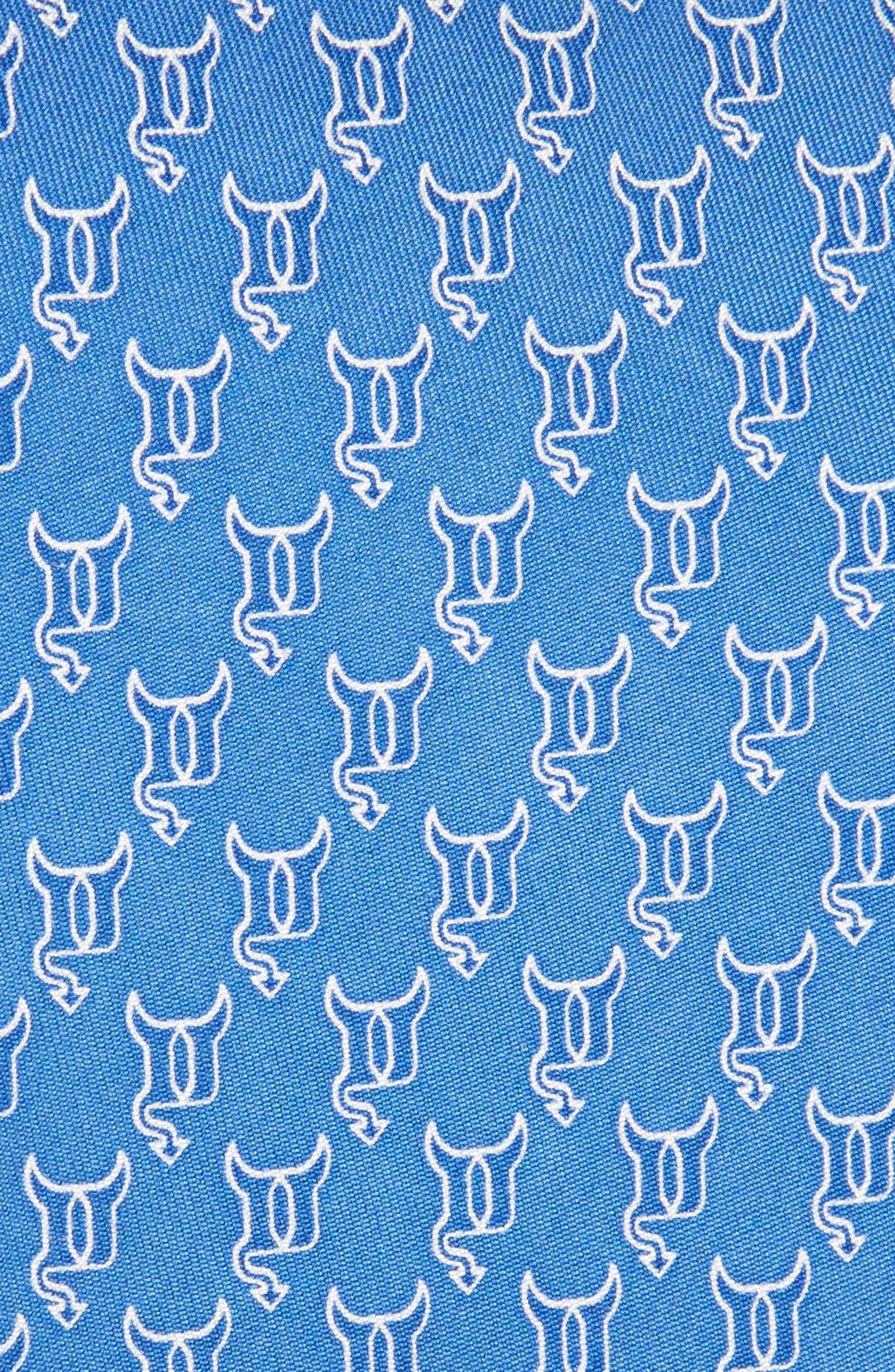 Duke Blue Devils Silk Tie,                             Alternate thumbnail 2, color,                             420
