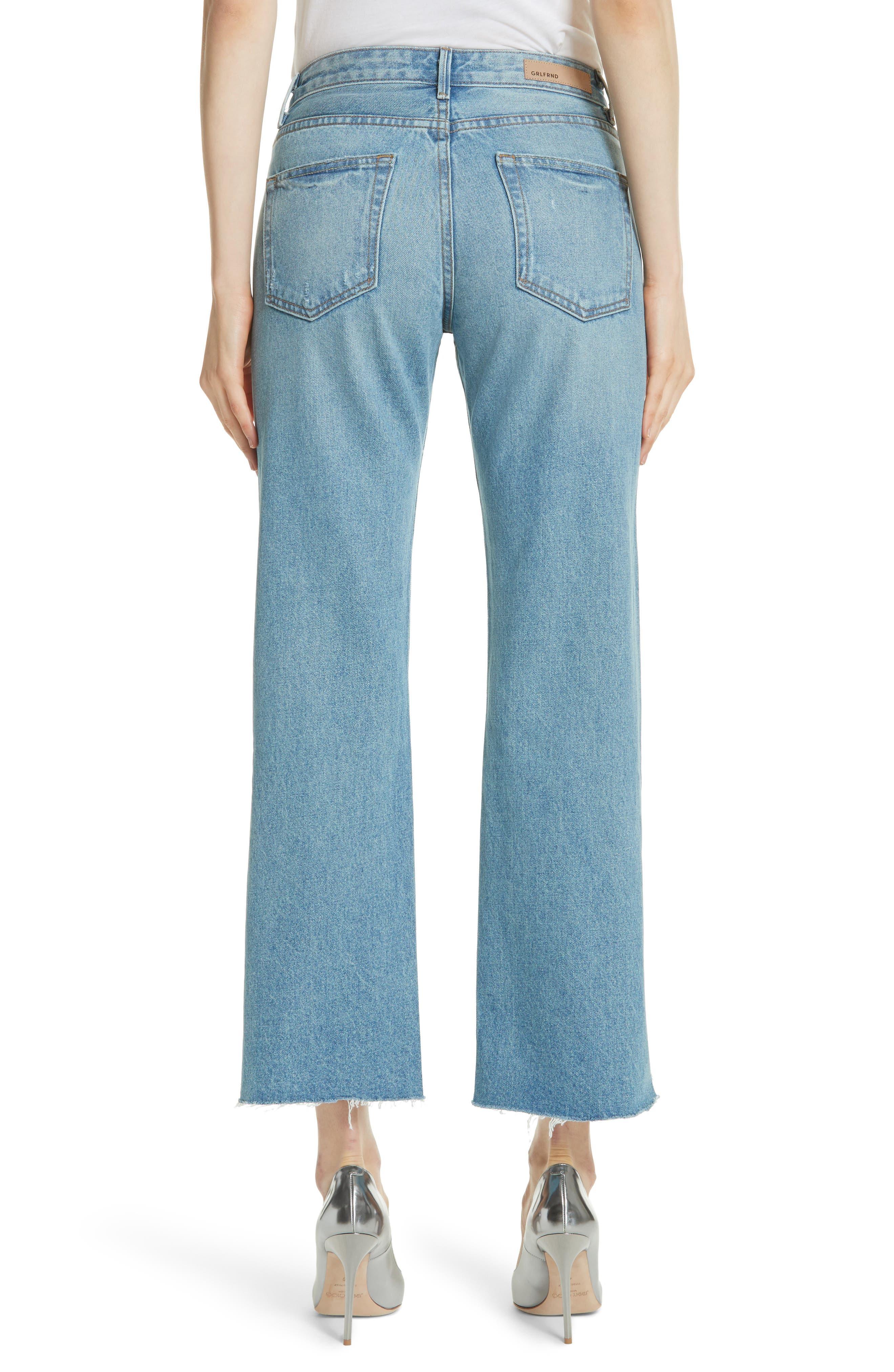 Maran Wide Leg Crop Jeans,                             Alternate thumbnail 2, color,                             483