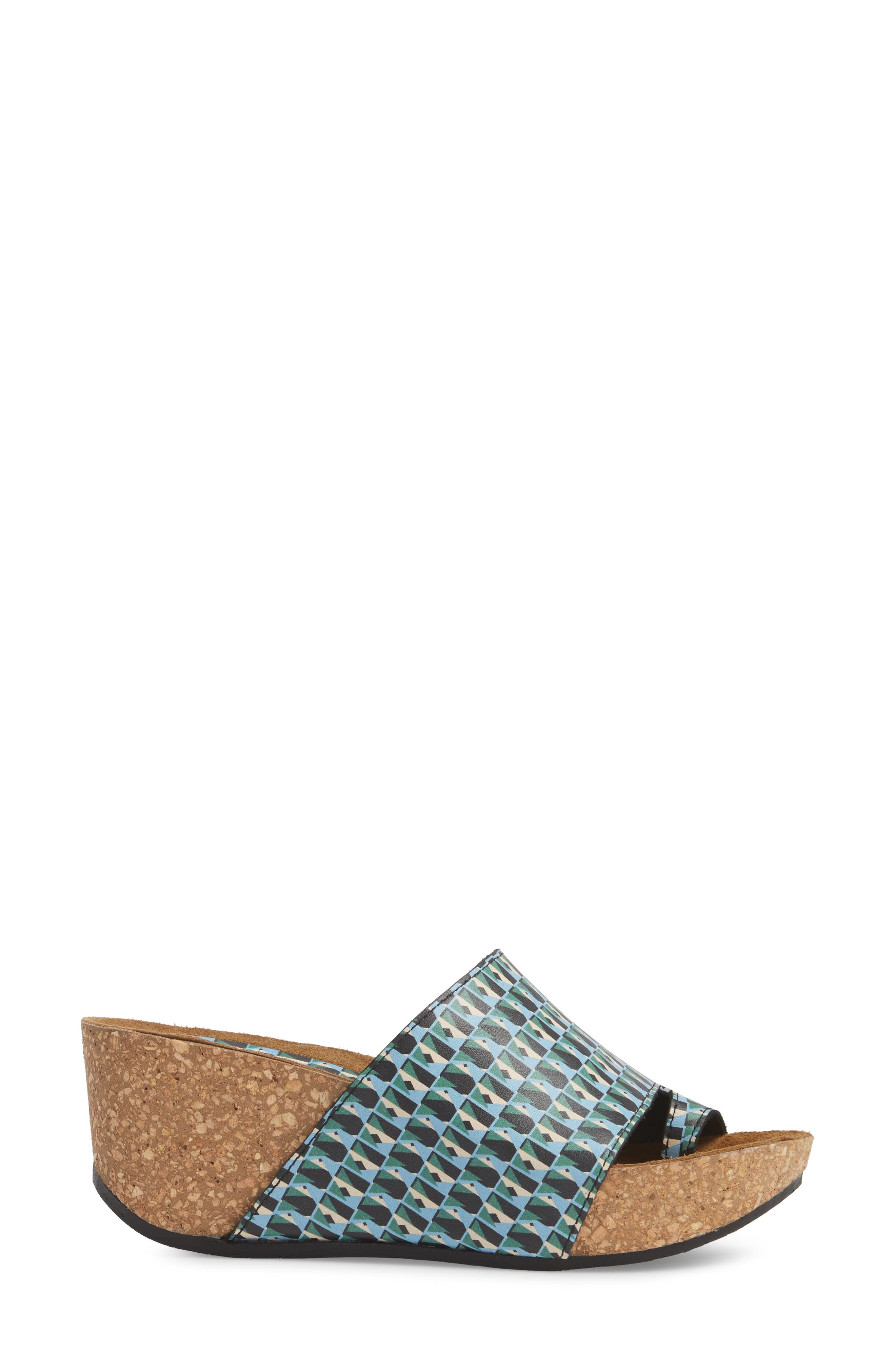 Donald J Pliner Ginie Platform Wedge Sandal,                             Alternate thumbnail 18, color,