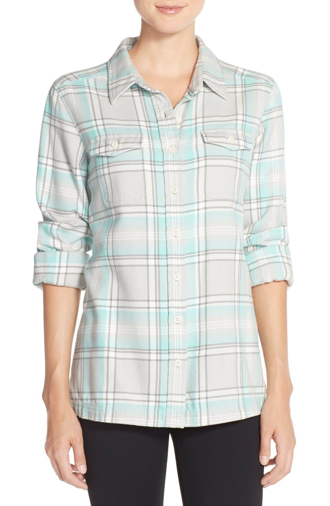 'Fjord' Flannel Shirt,                             Main thumbnail 2, color,