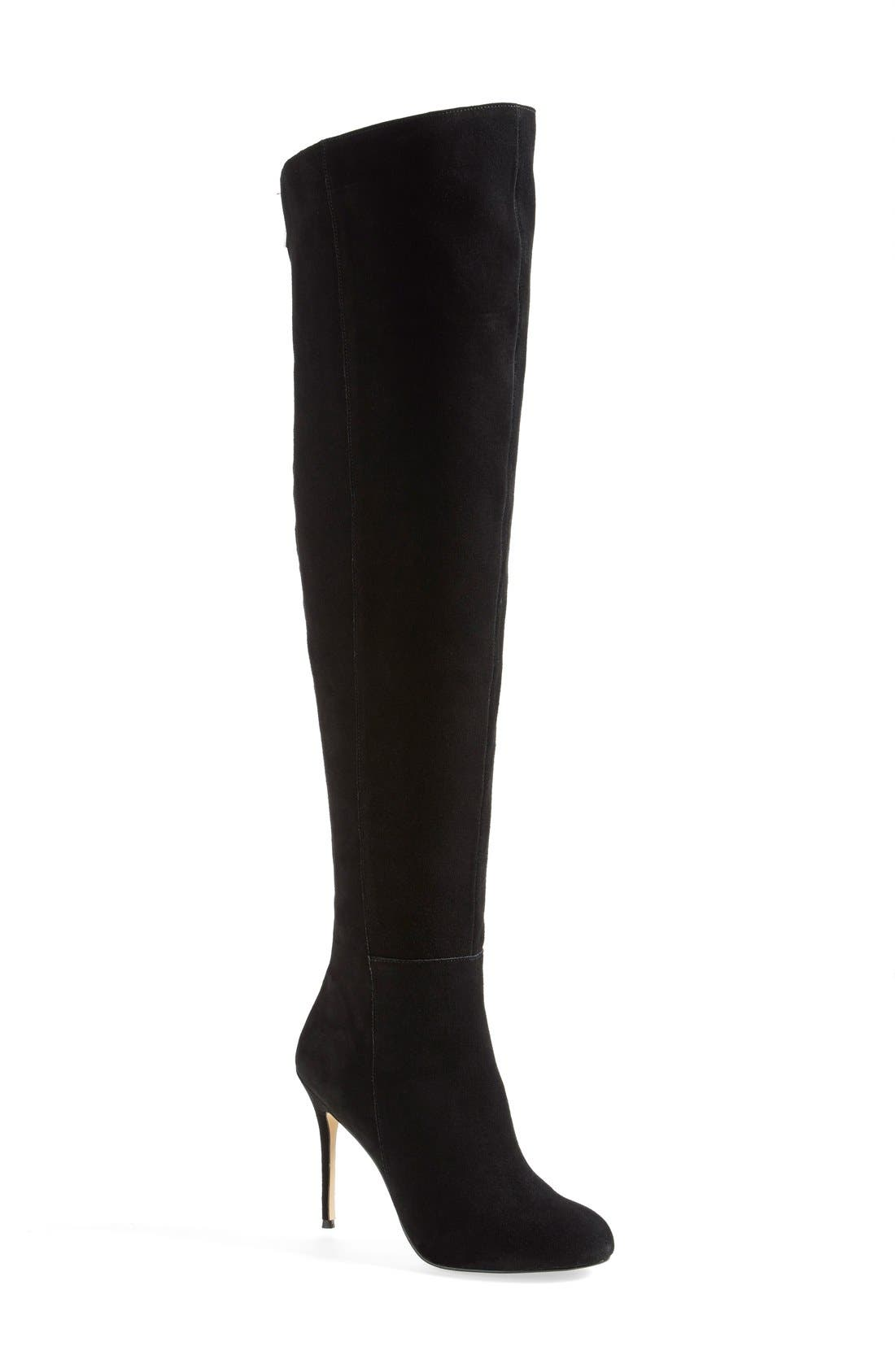 DV by Dolce Vita 'Keva' Over-The-Knee Boot,                             Main thumbnail 1, color,                             001