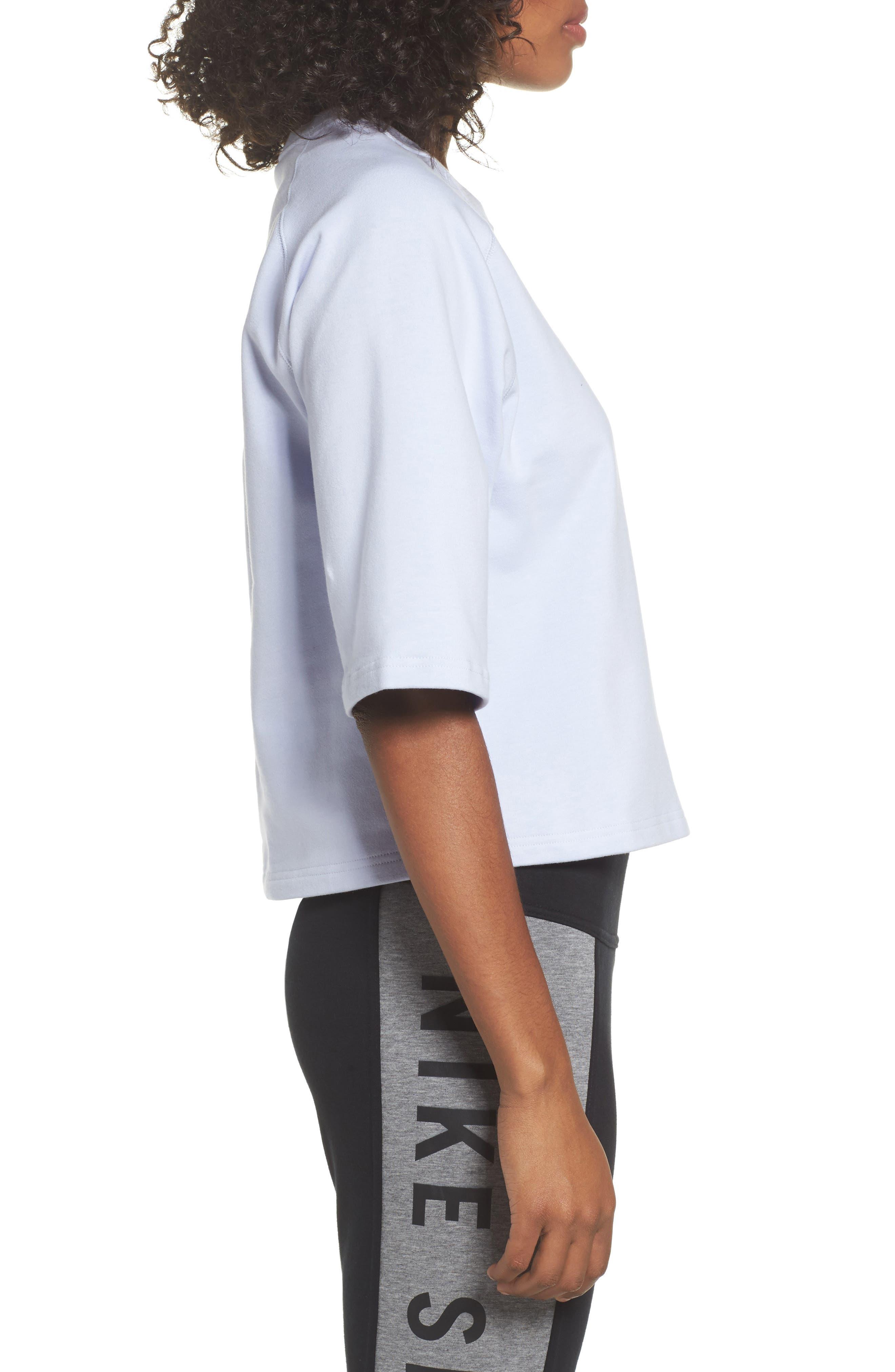 NikeLab Essential Fleece Top,                             Alternate thumbnail 13, color,
