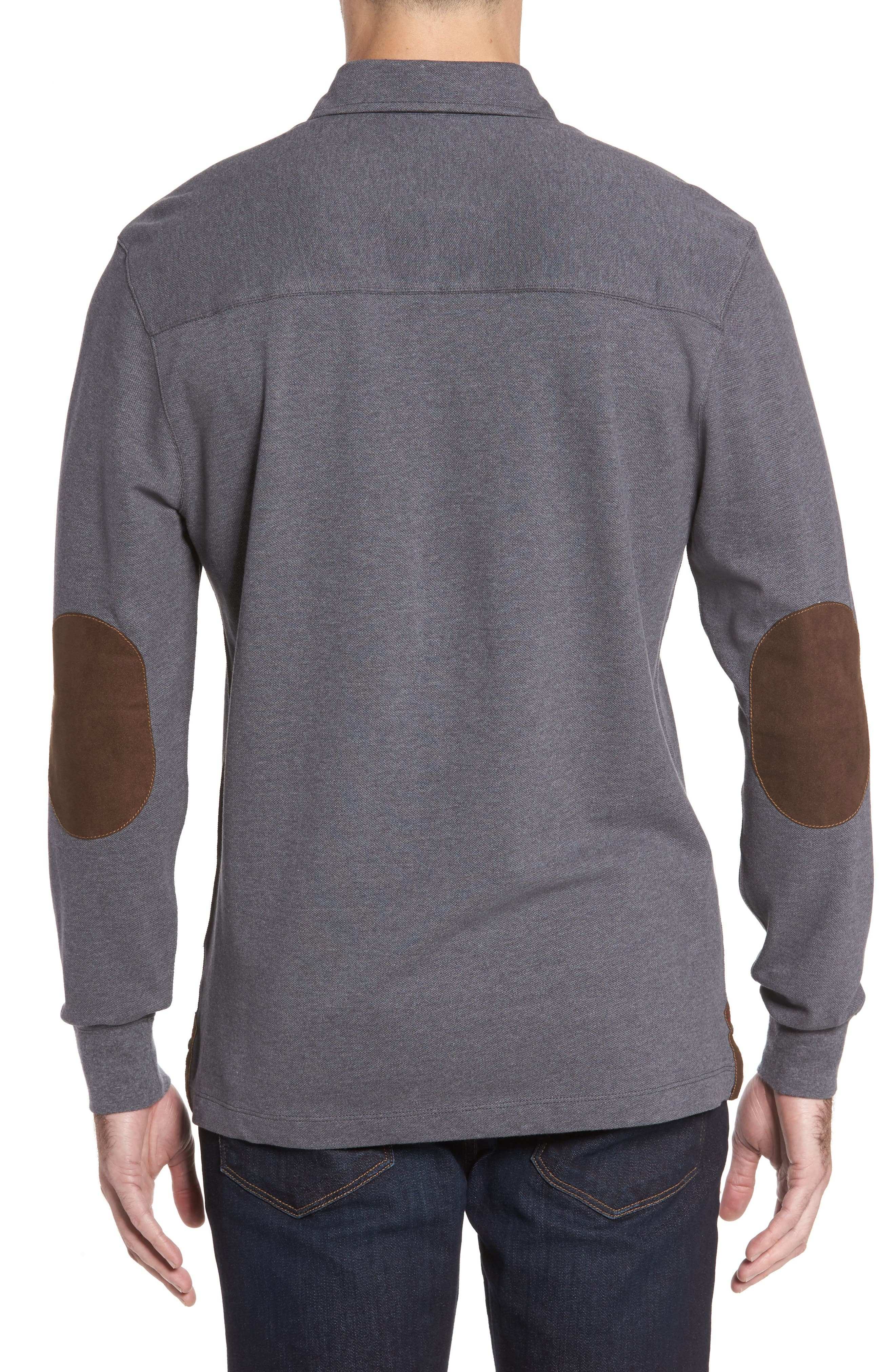 Perry Long Sleeve Polo,                             Alternate thumbnail 2, color,                             014