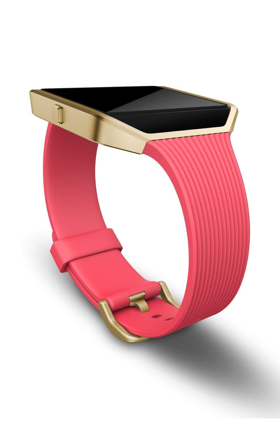 'Blaze' Slim Band Smart Fitness Watch, 40mm,                             Alternate thumbnail 3, color,                             650