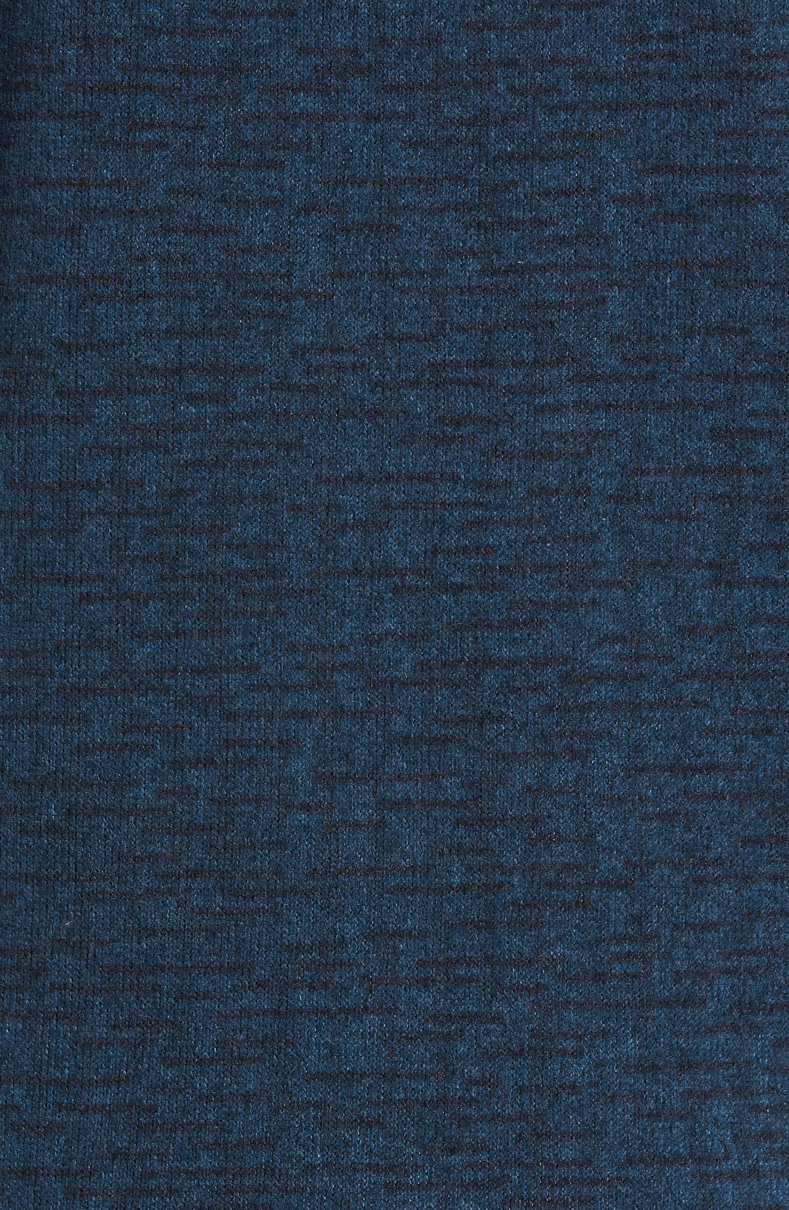 Gordon Lyons Alpine Sweater Fleece Hoodie,                             Alternate thumbnail 6, color,                             URBAN NAVY