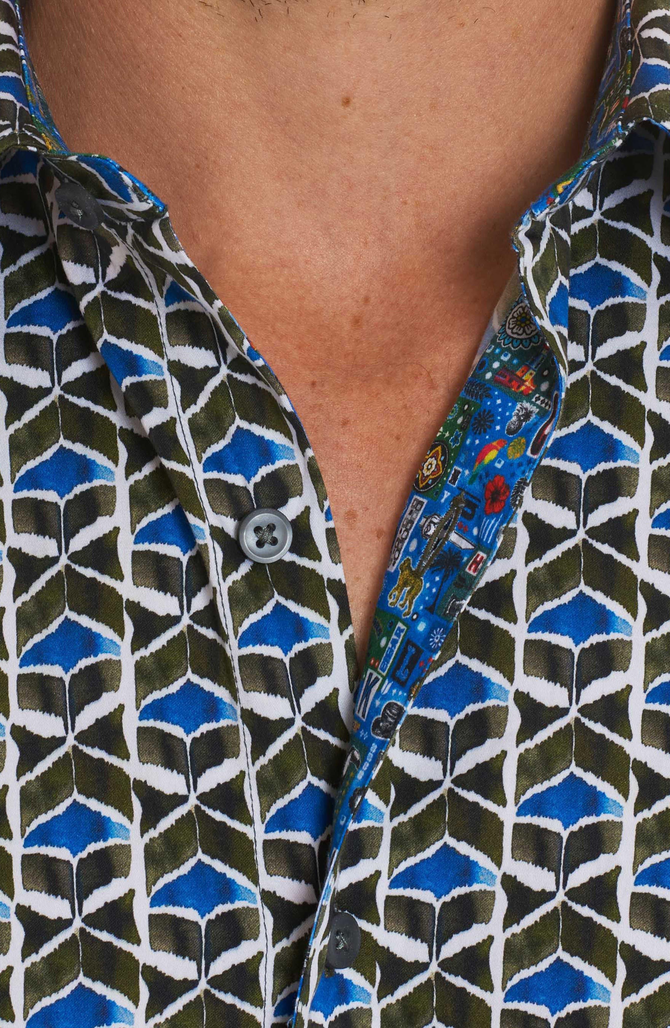 Tames Classic Fit Sport Shirt,                             Alternate thumbnail 8, color,                             300