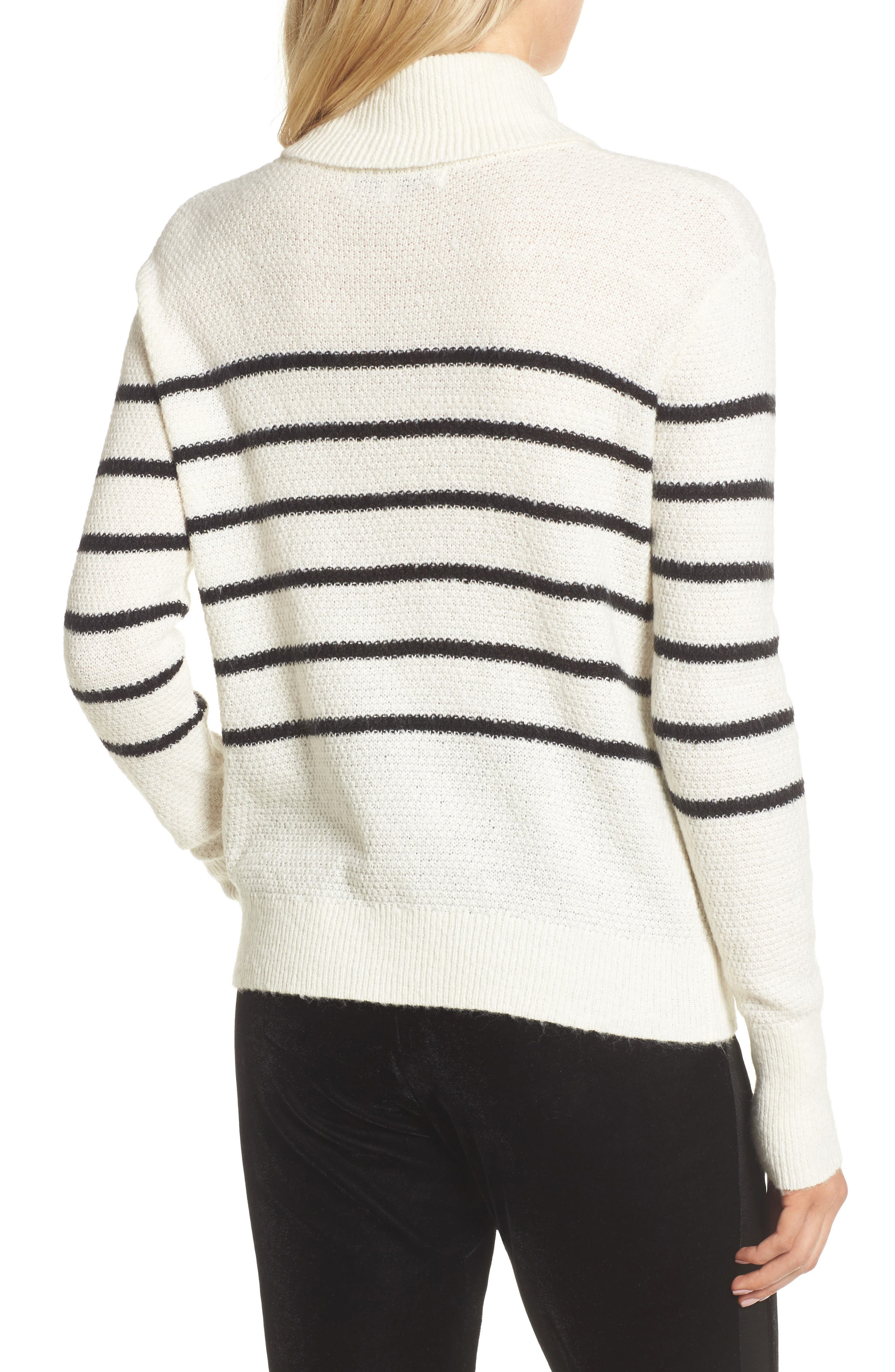 Renny Turtleneck Sweater,                             Alternate thumbnail 4, color,