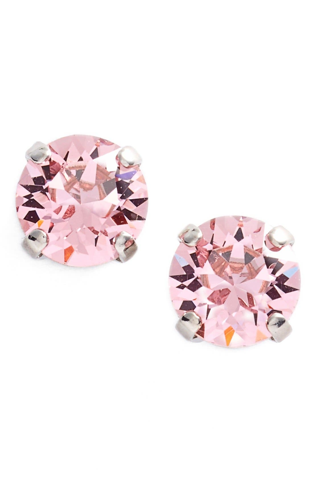 'Grace' Crystal Stud Earrings,                         Main,                         color, 650