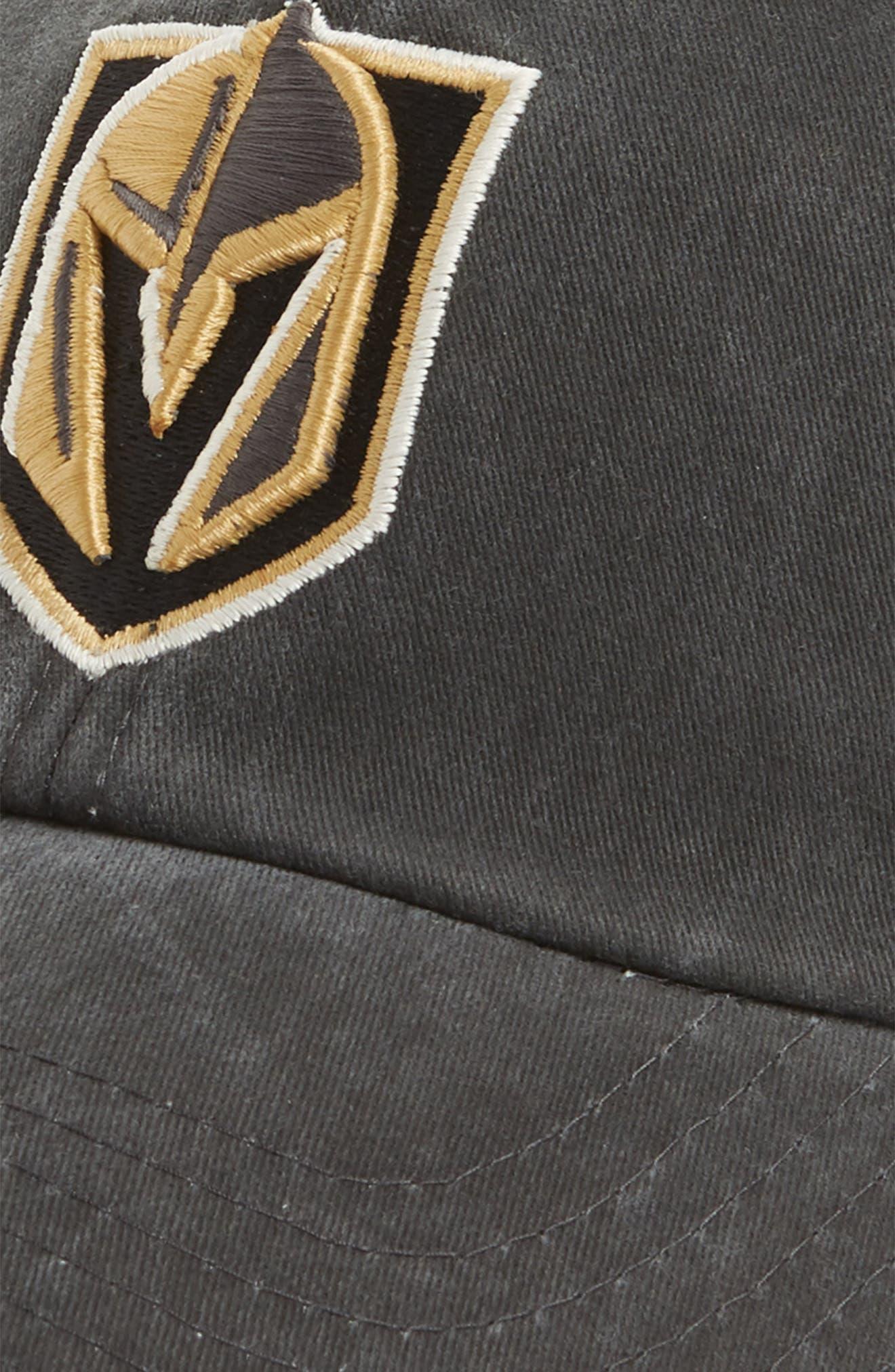 Raglan NHL Trucker Cap,                             Alternate thumbnail 3, color,                             GOLDEN KNIGHTS