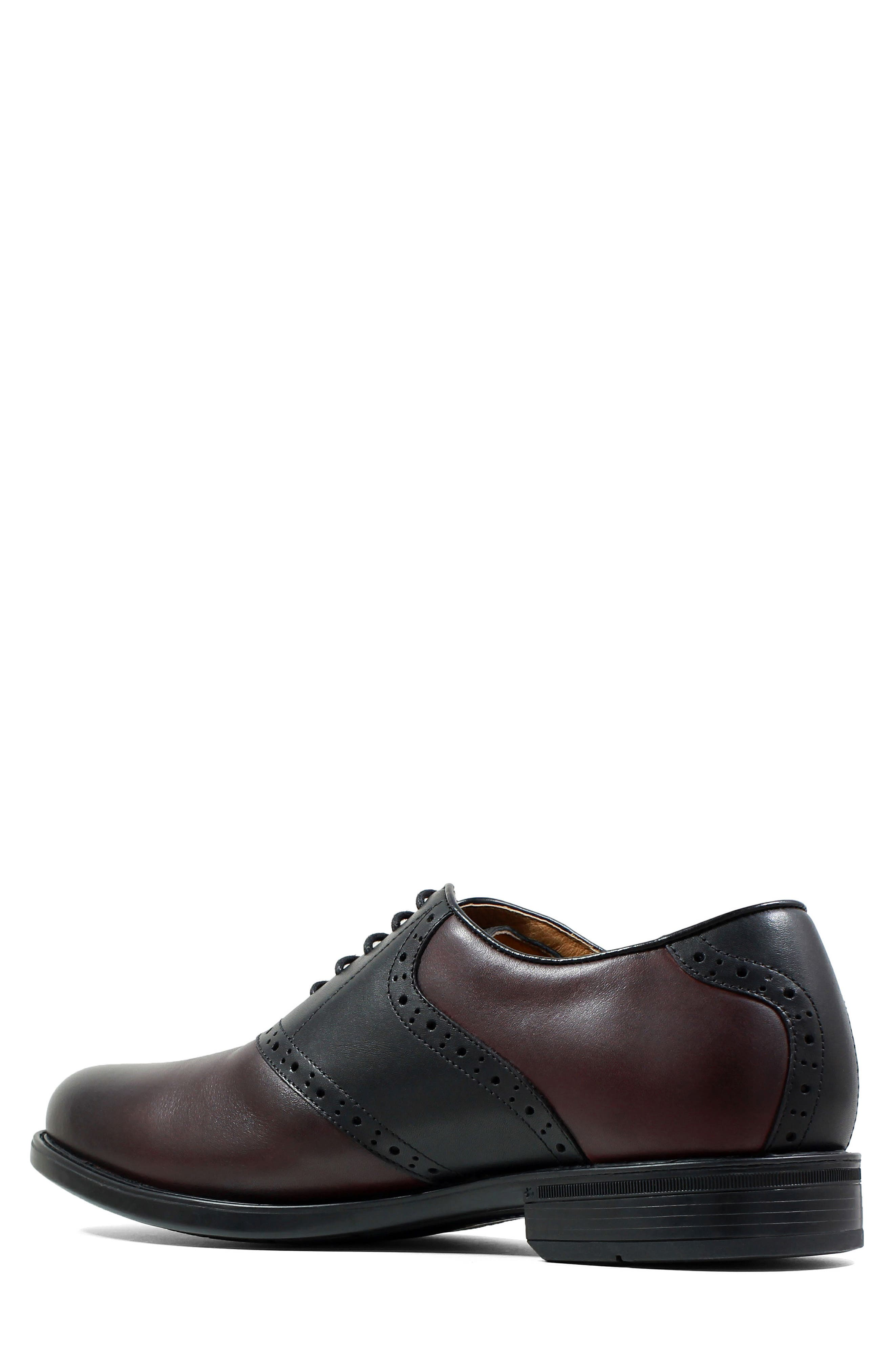 Midtown Saddle Oxford,                             Alternate thumbnail 4, color,