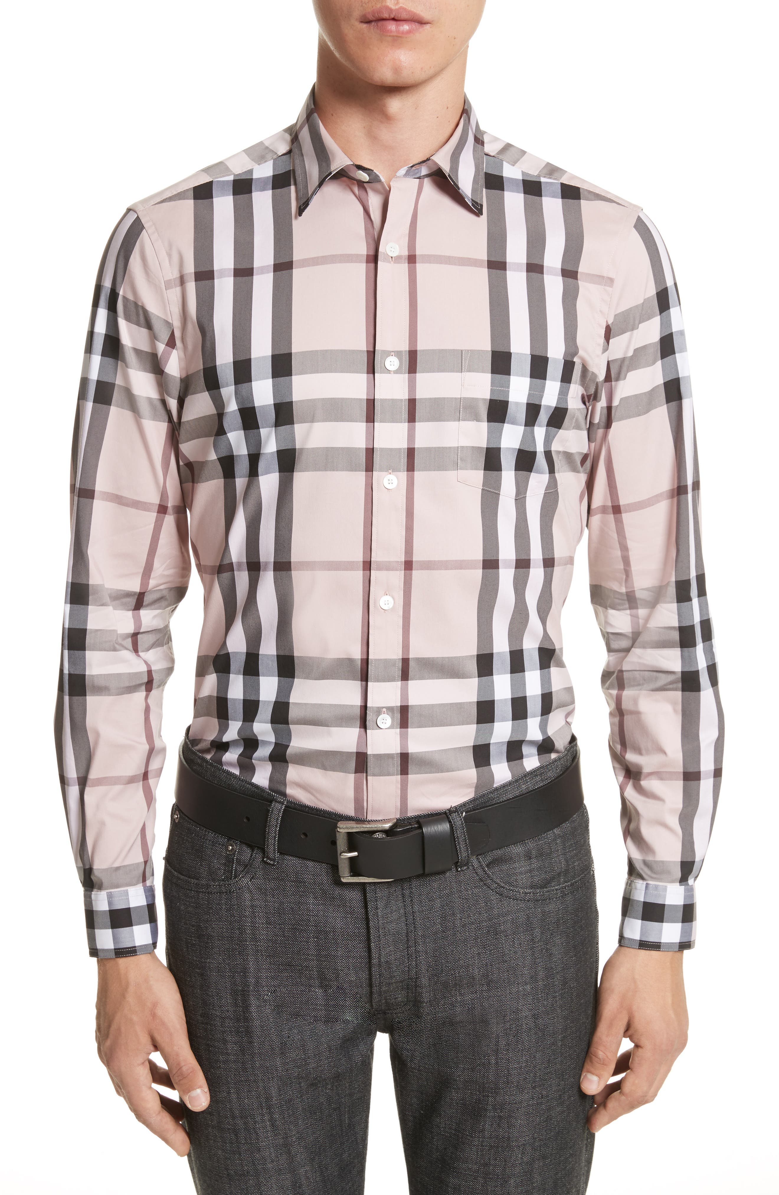 Nelson Check Sport Shirt,                             Main thumbnail 26, color,
