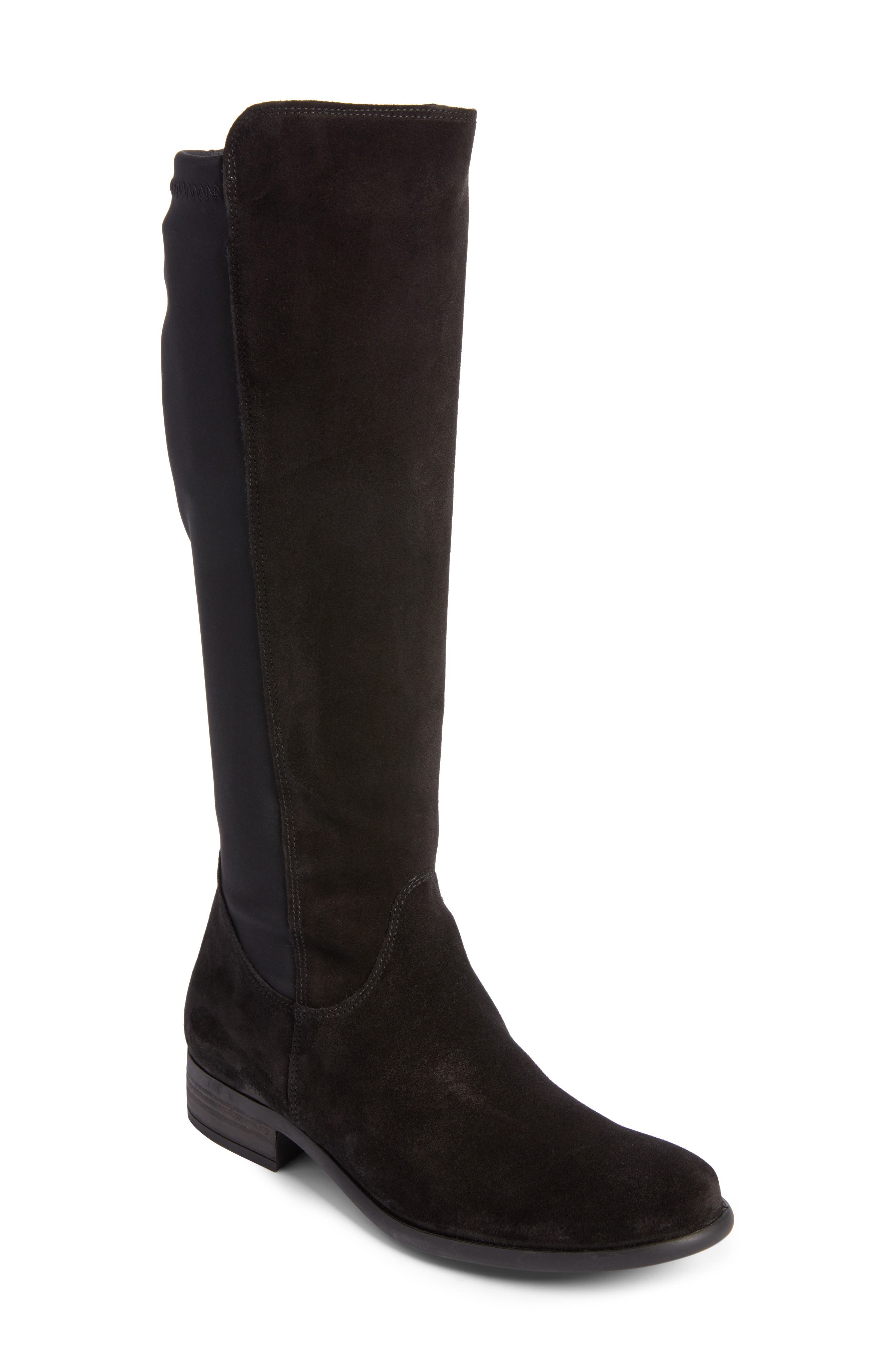 Nola Tall Water Resistant Boot,                         Main,                         color, 009