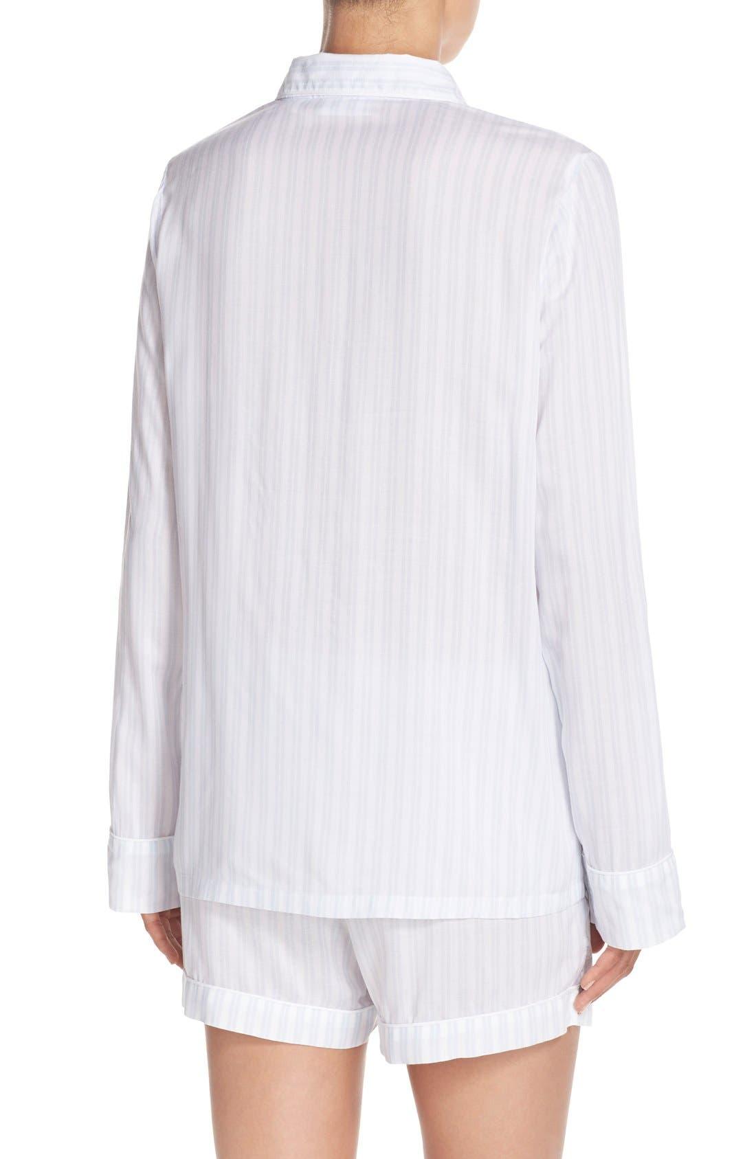 Stripe Short Pajamas,                             Alternate thumbnail 4, color,                             450