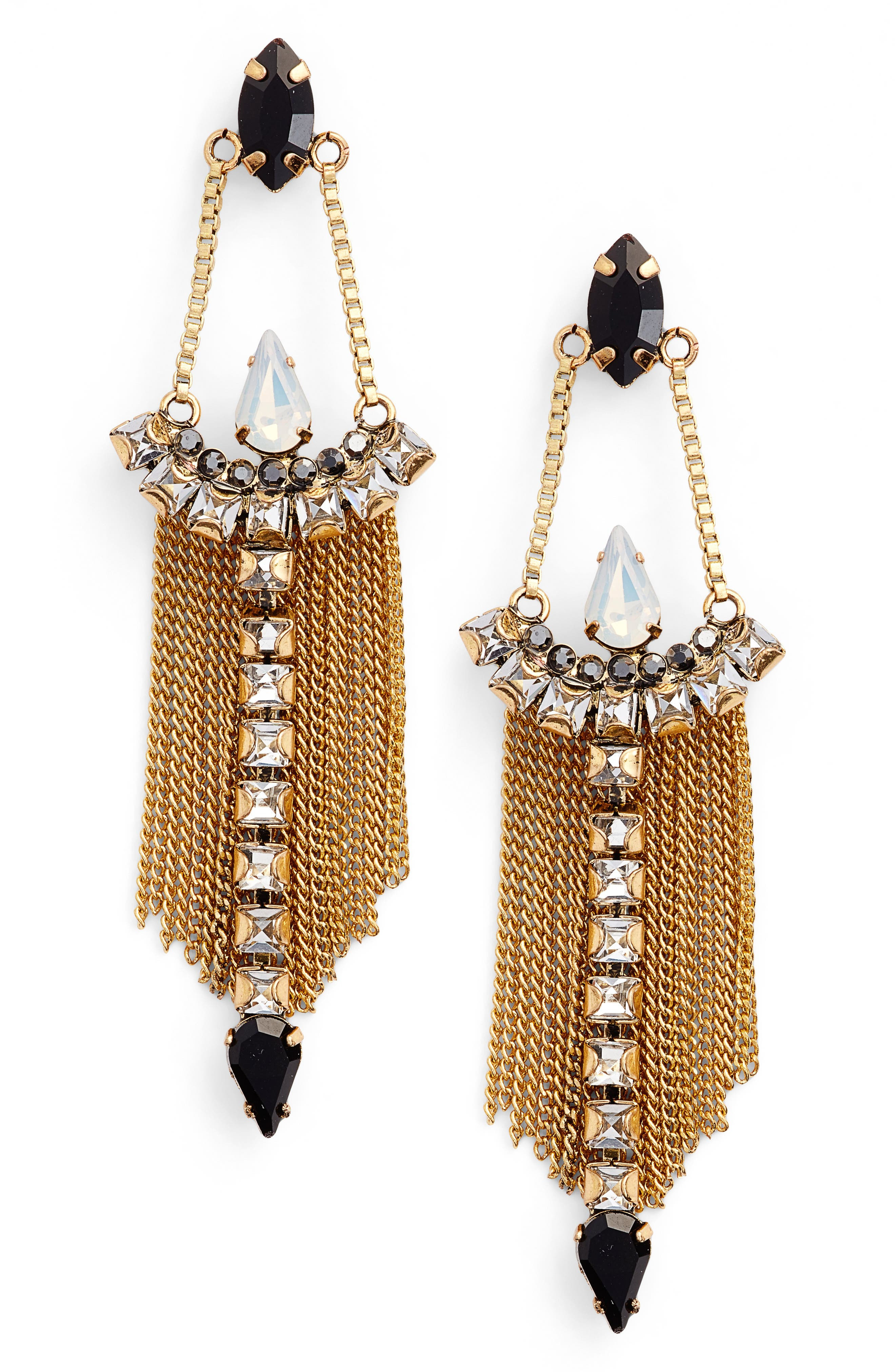Clara Chandelier Earrings,                         Main,                         color,