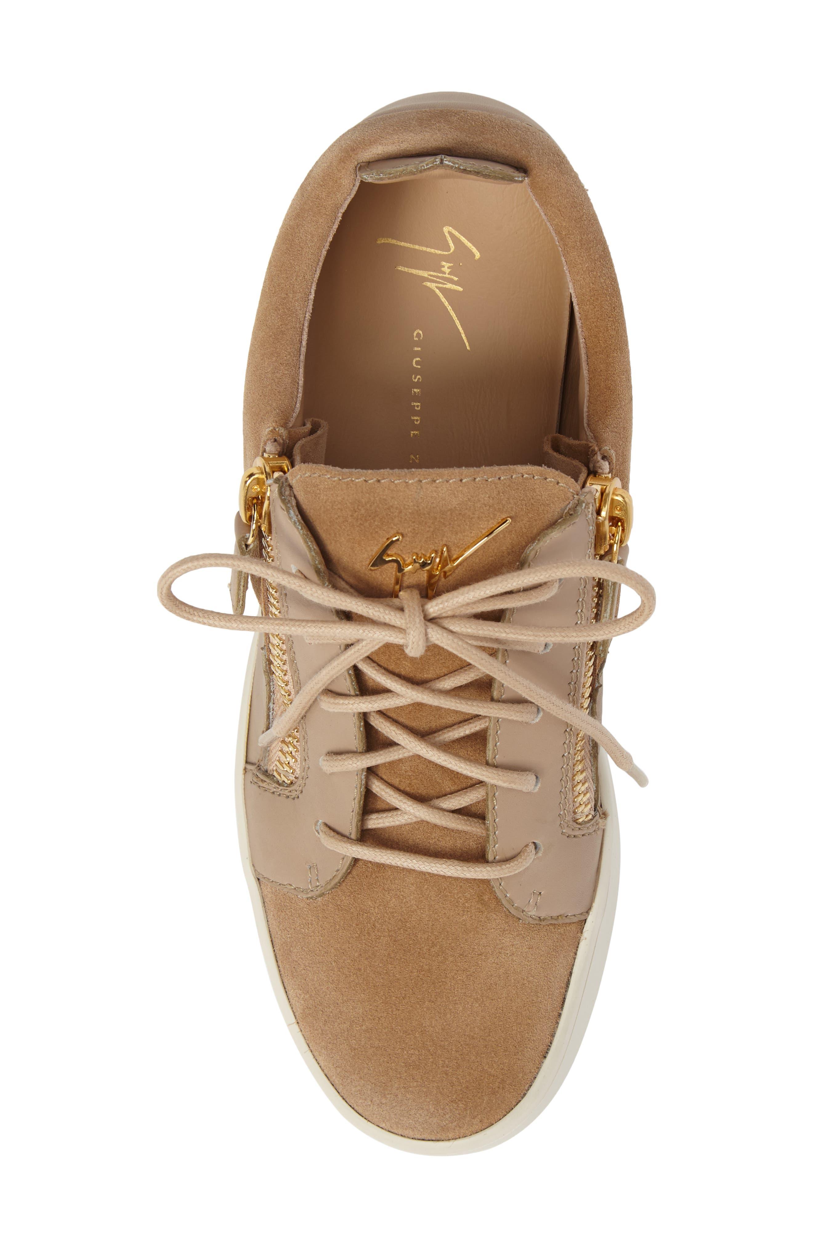 Low Top Zip Sneaker,                             Alternate thumbnail 5, color,                             250