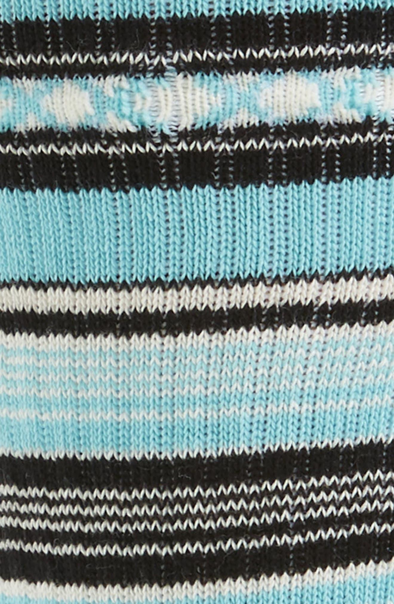 Guadalupe Stripe Socks,                             Alternate thumbnail 2, color,                             420