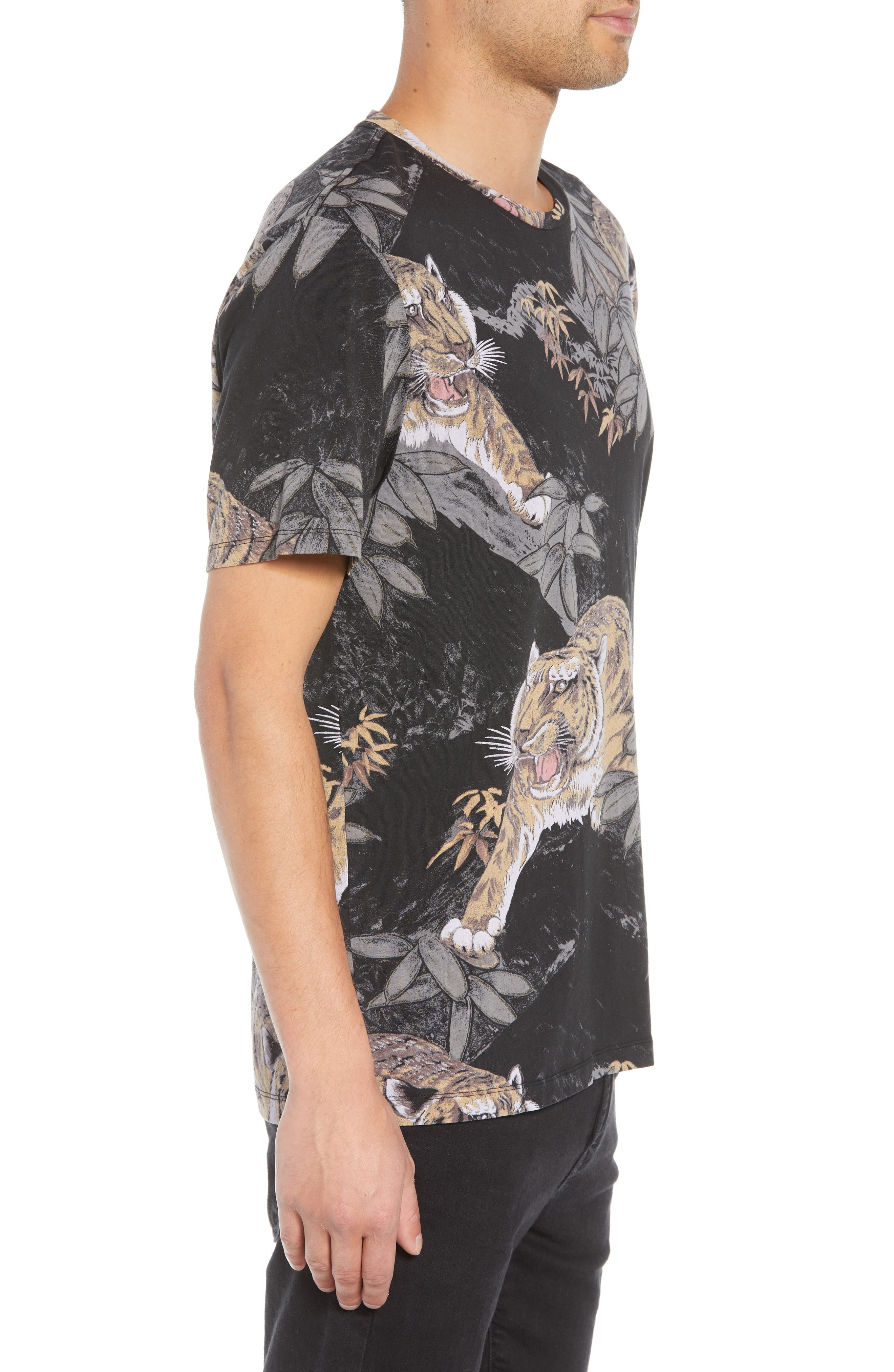 Chokai Slim Fit T-Shirt,                             Alternate thumbnail 3, color,                             VINTAGE BLACK