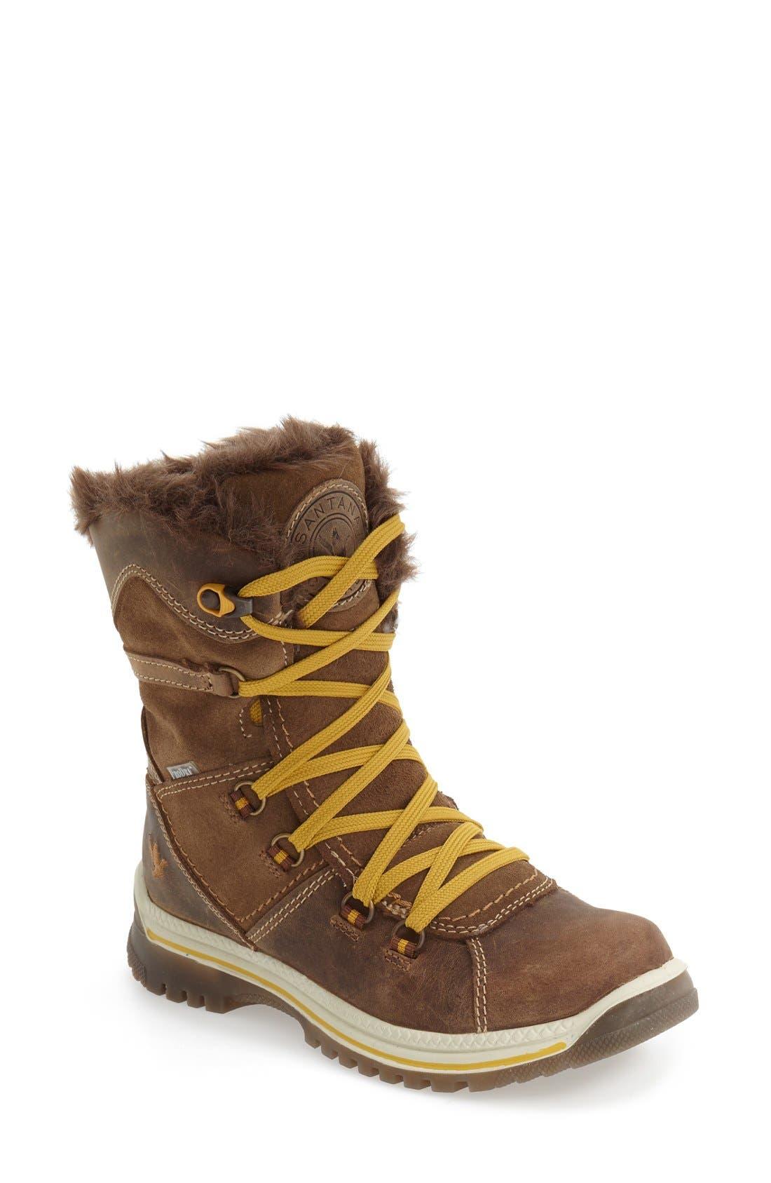 'Majesta' Faux Fur Boot,                         Main,                         color,