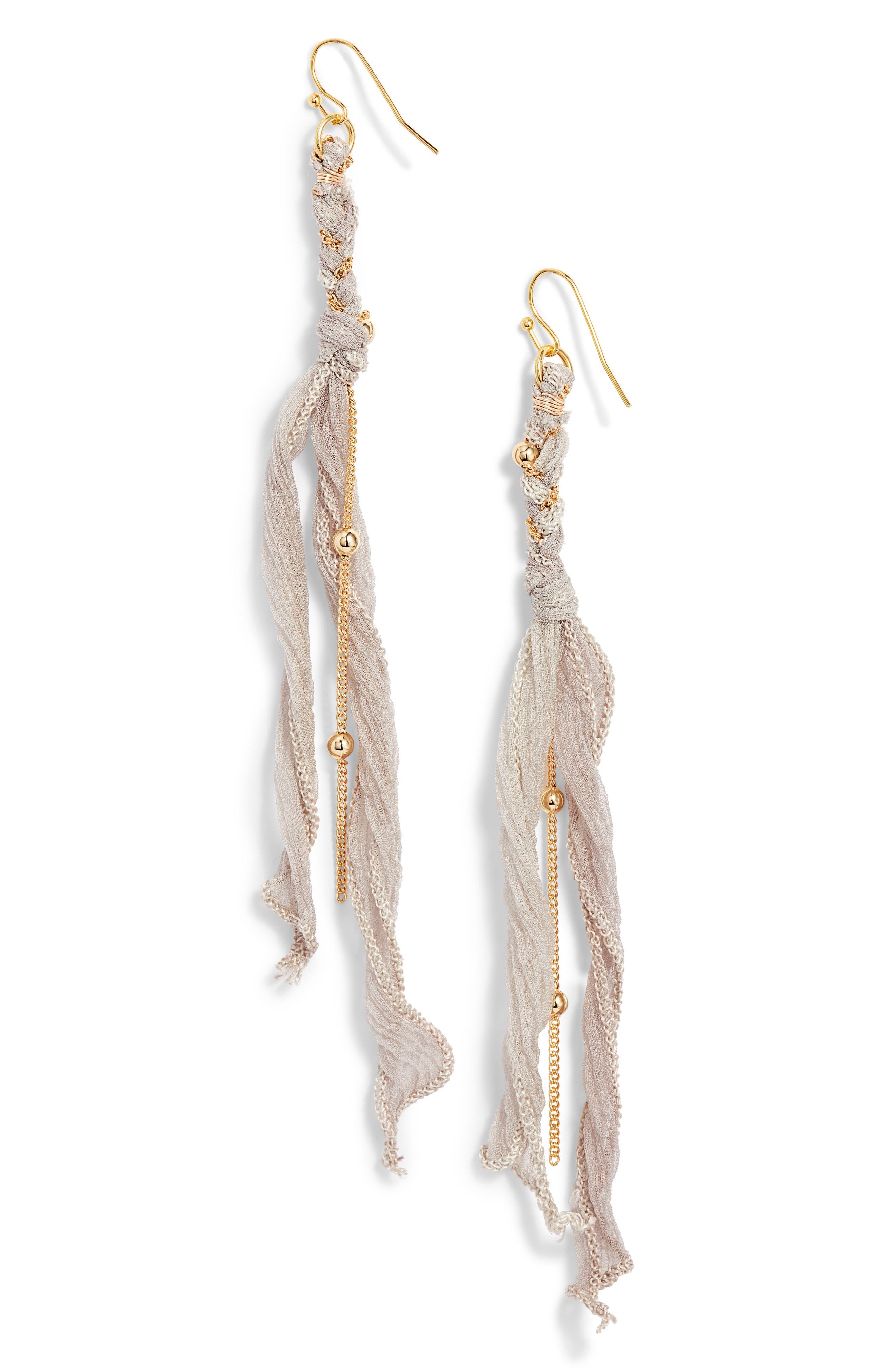 Tallulah Statement Earrings, Main, color, DRIFTWOOD