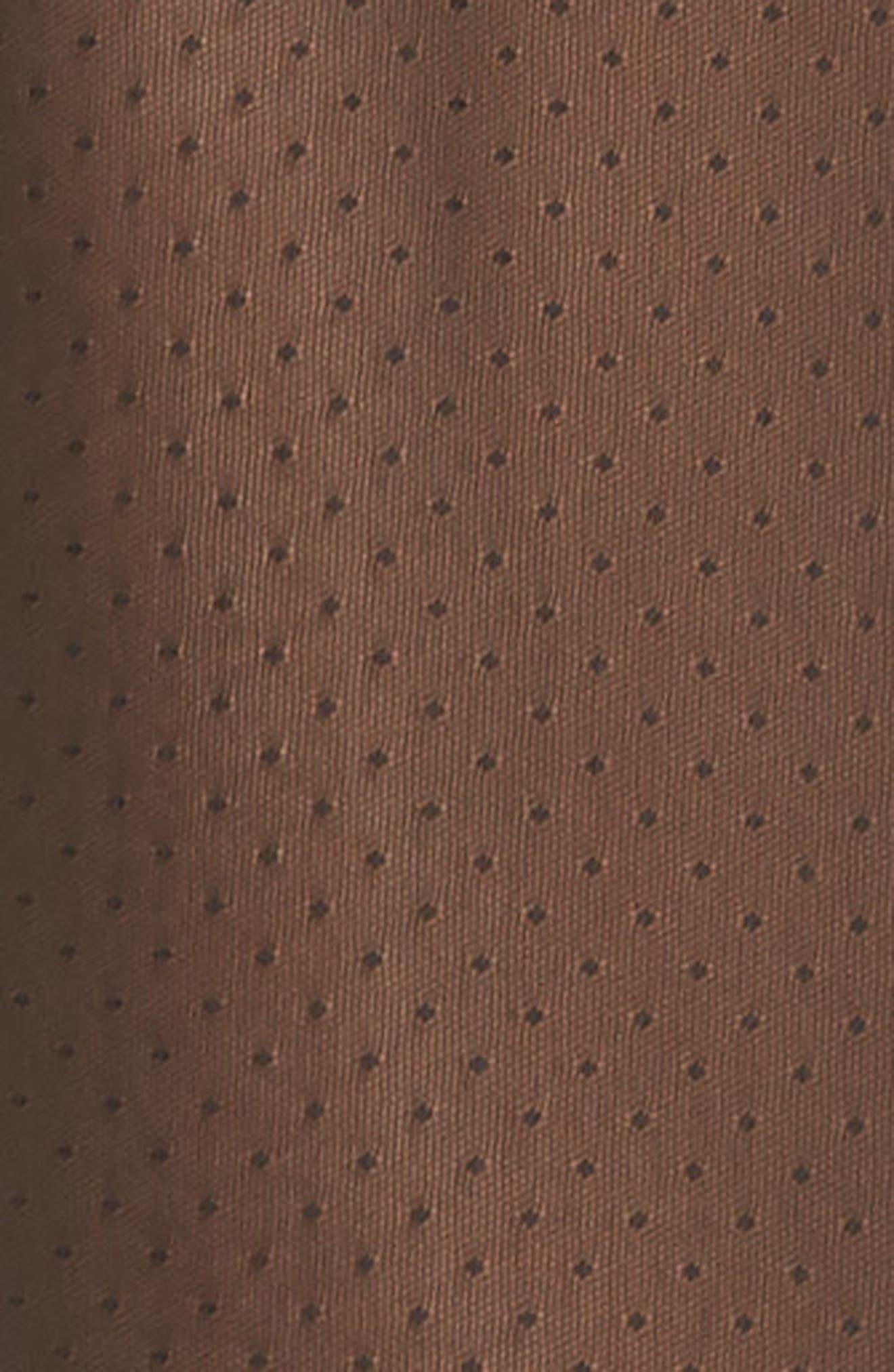 Mesh Midi Slip,                             Alternate thumbnail 5, color,                             001