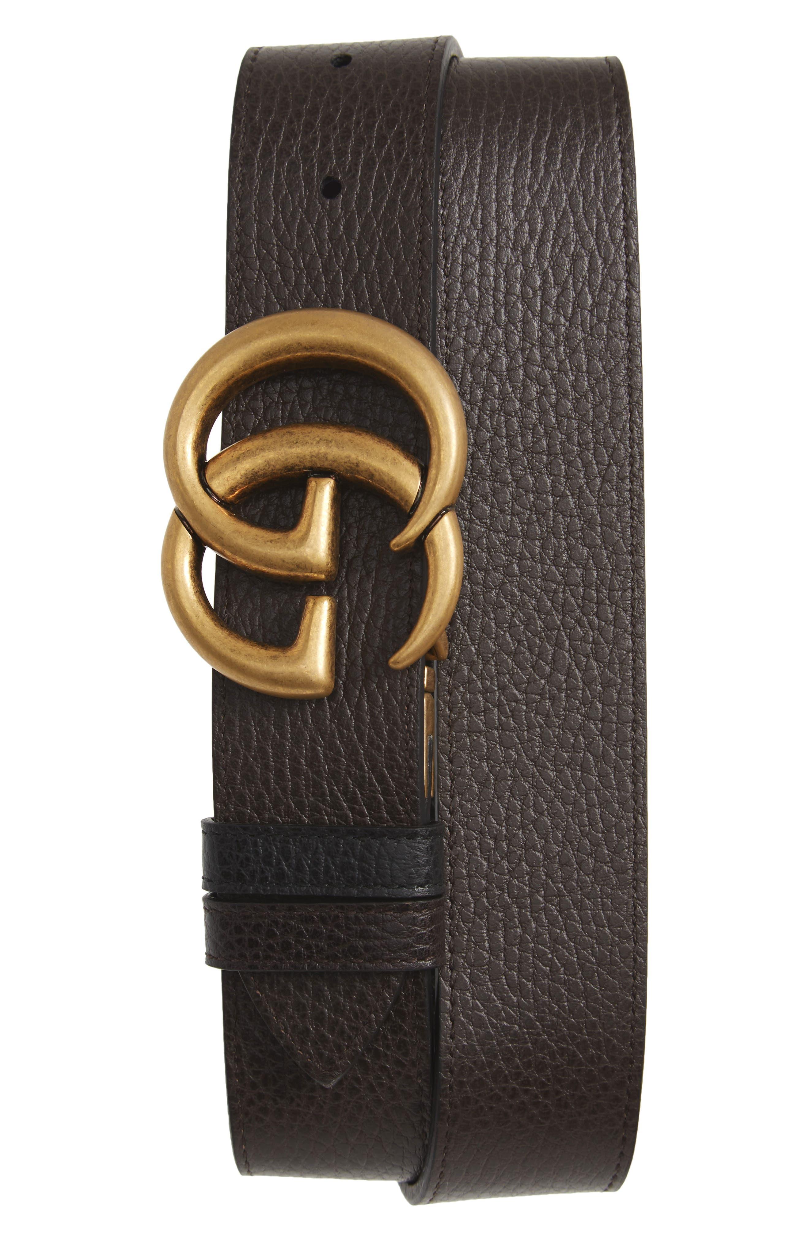 GG Marmont Reversible Leather Belt,                             Alternate thumbnail 2, color,                             241