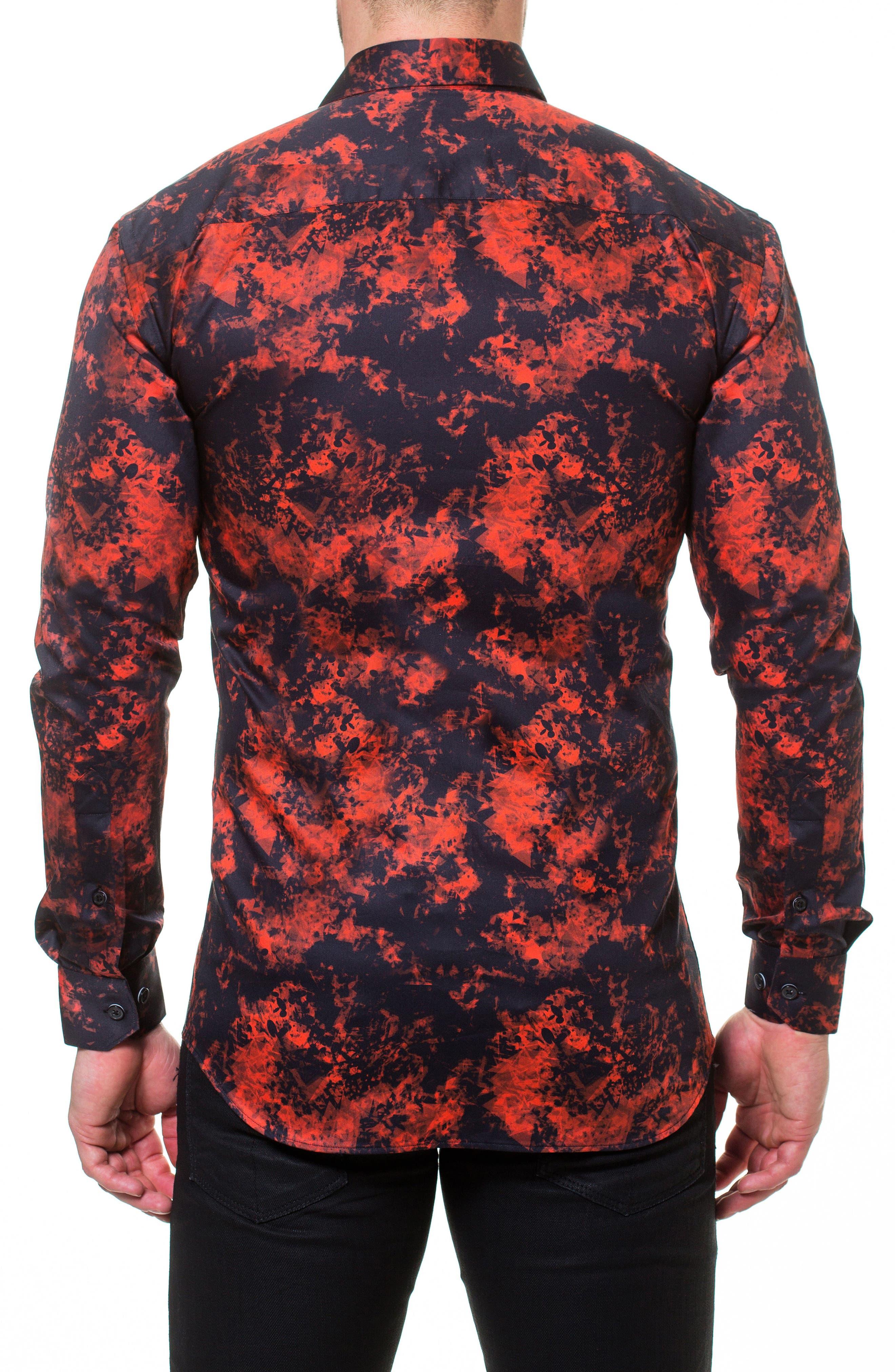 Luxor Fire Slim Fit Sport Shirt,                             Alternate thumbnail 2, color,