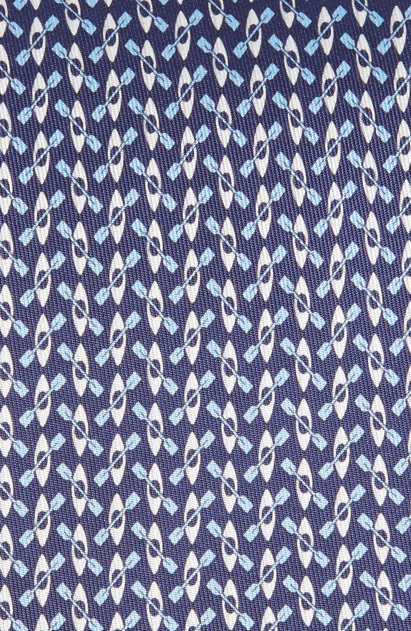 Elias Print Silk Tie,                             Alternate thumbnail 5, color,