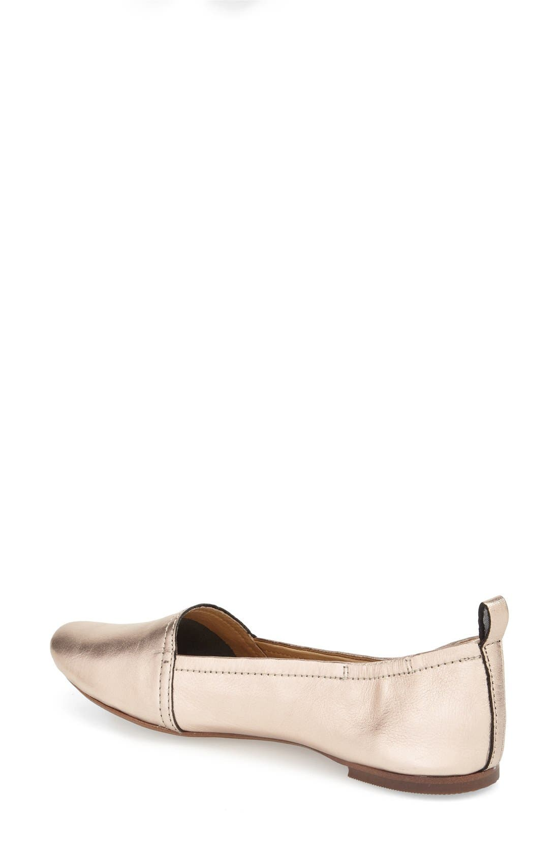 'Bettie' Leather Flat,                             Alternate thumbnail 16, color,