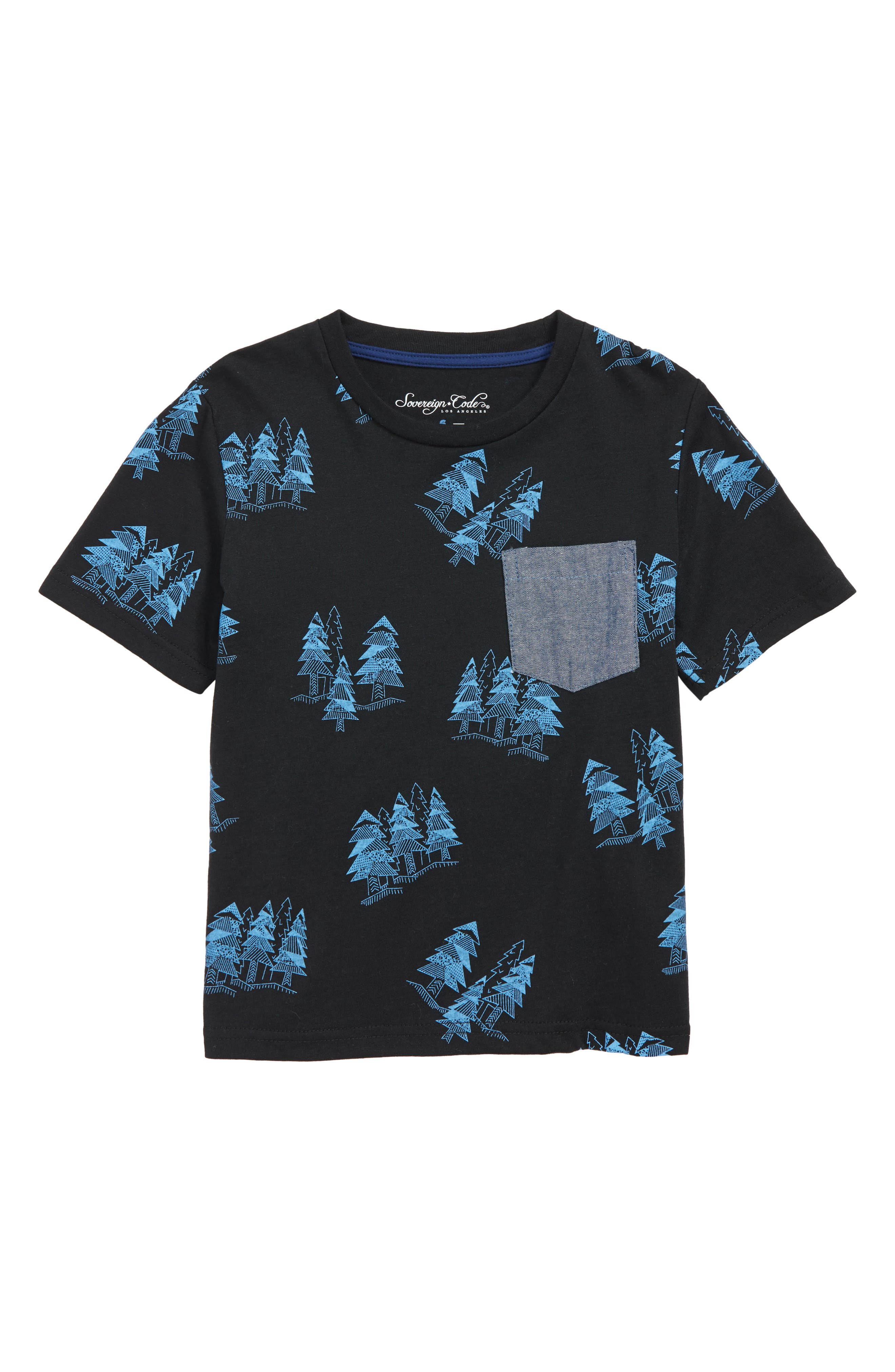 Trav Pocket T-Shirt,                         Main,                         color, SPRUCE