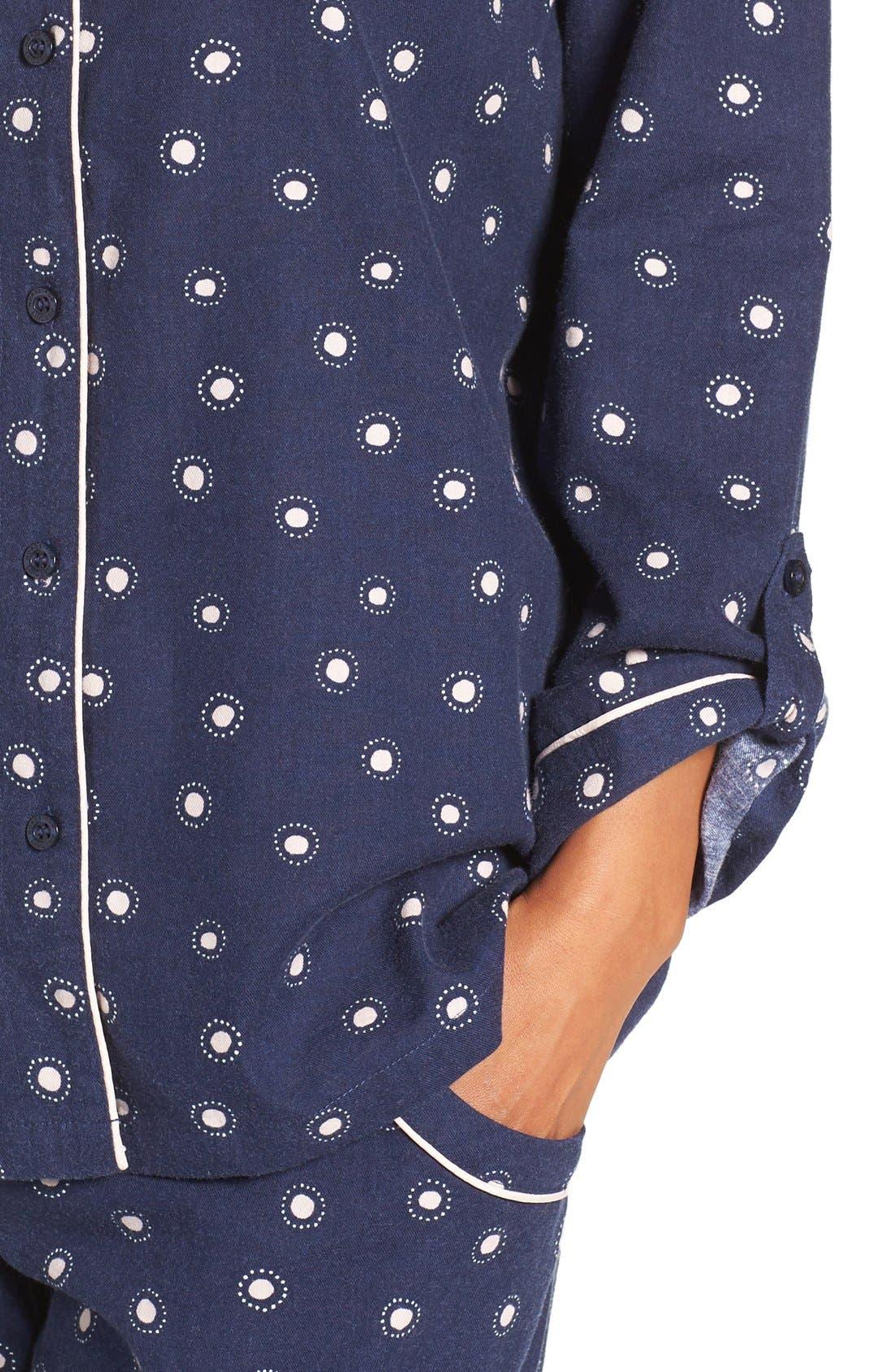 Cotton Twill Pajamas,                             Alternate thumbnail 17, color,