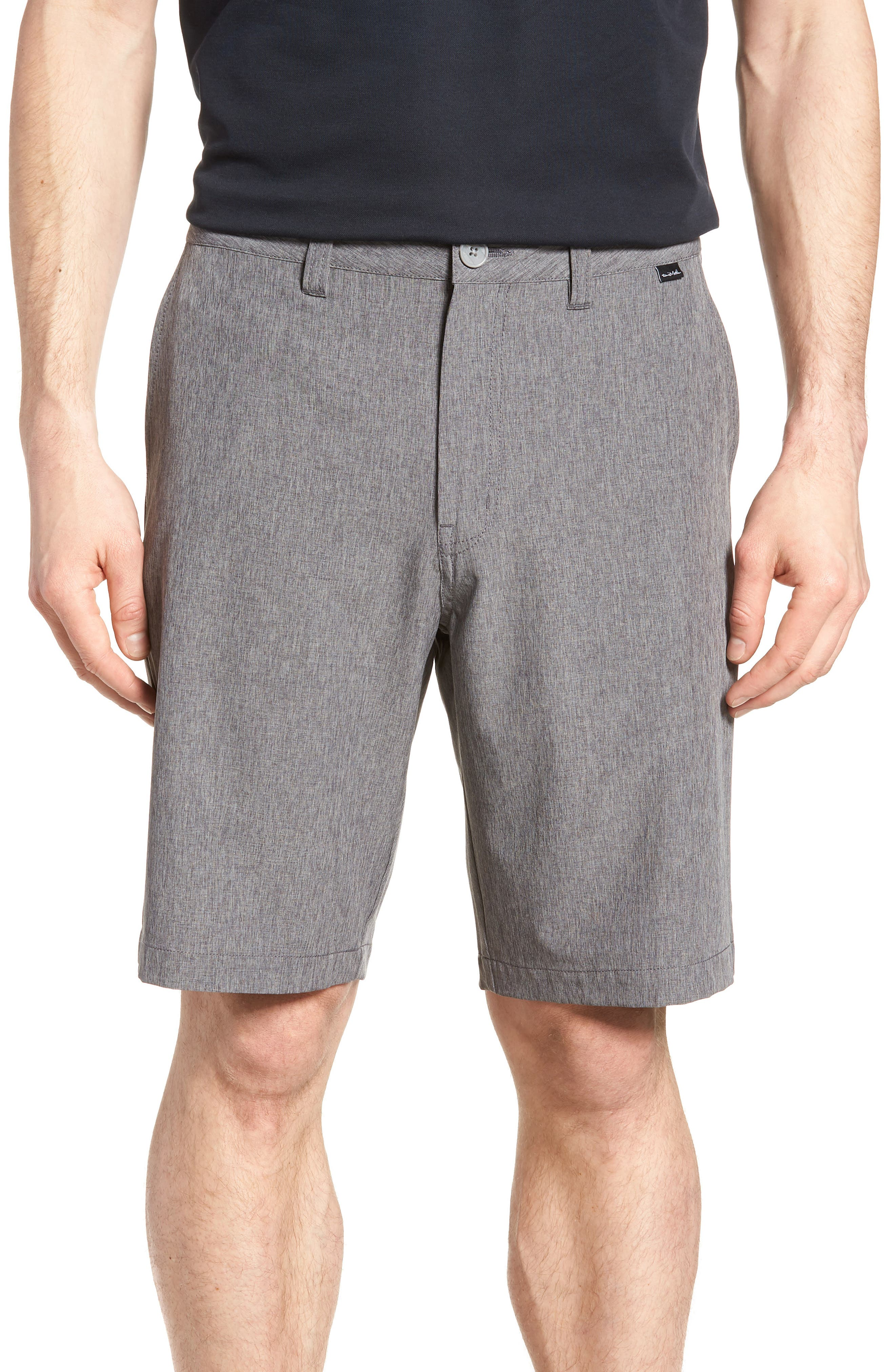 'Palladium' Performance Stretch Heathered Golf Shorts,                         Main,                         color, 021