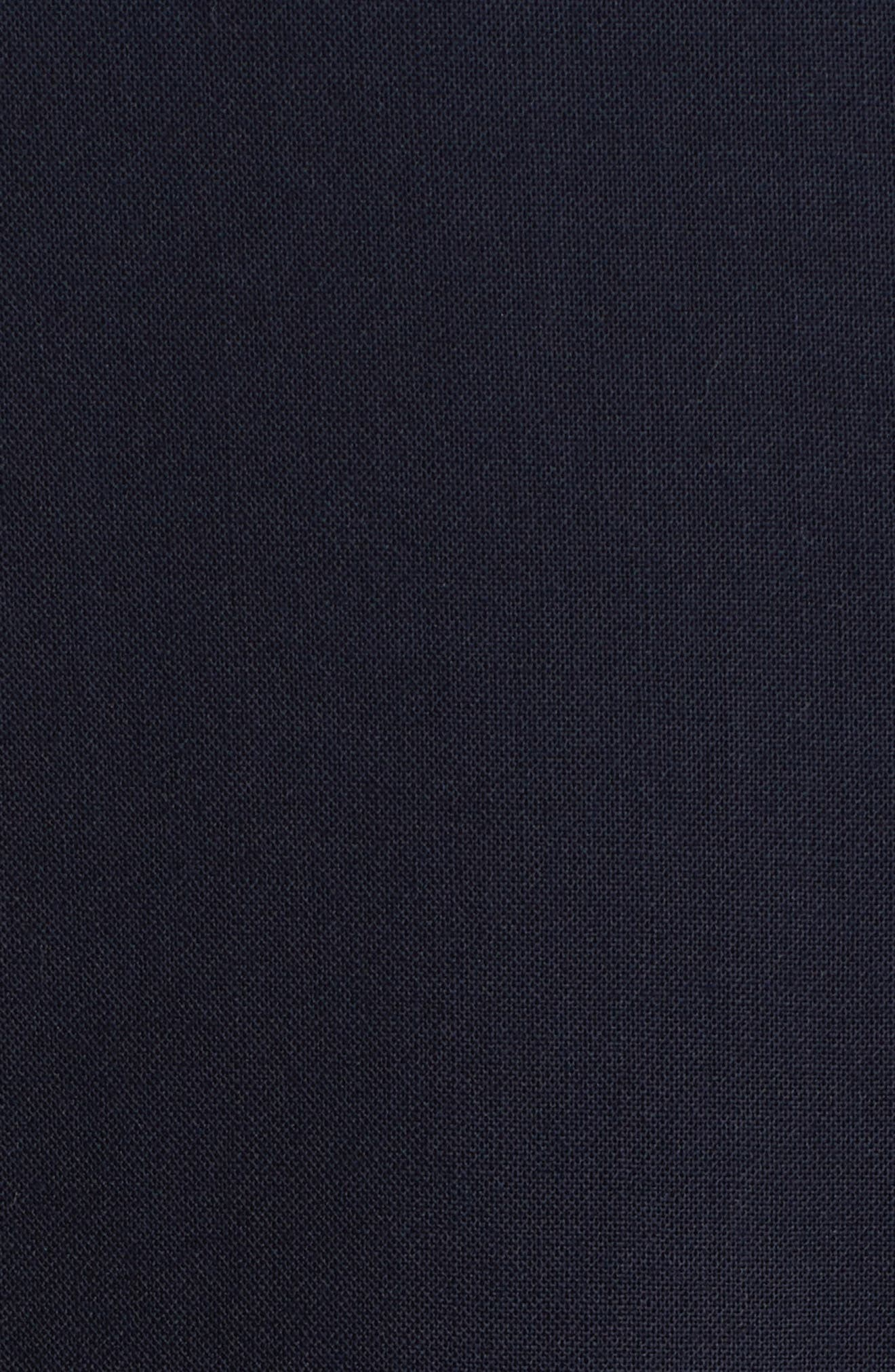 Milano Trim Fit Solid Wool Suit,                             Alternate thumbnail 7, color,                             NAVY