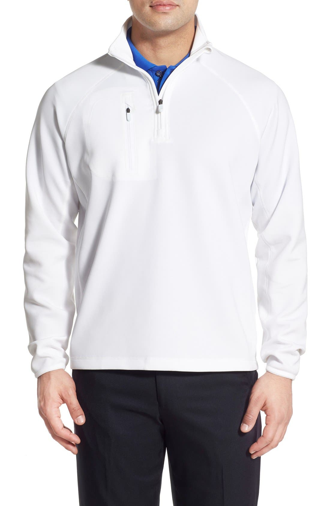 XH2O Crawford Stretch Quarter Zip Golf Pullover,                             Main thumbnail 5, color,