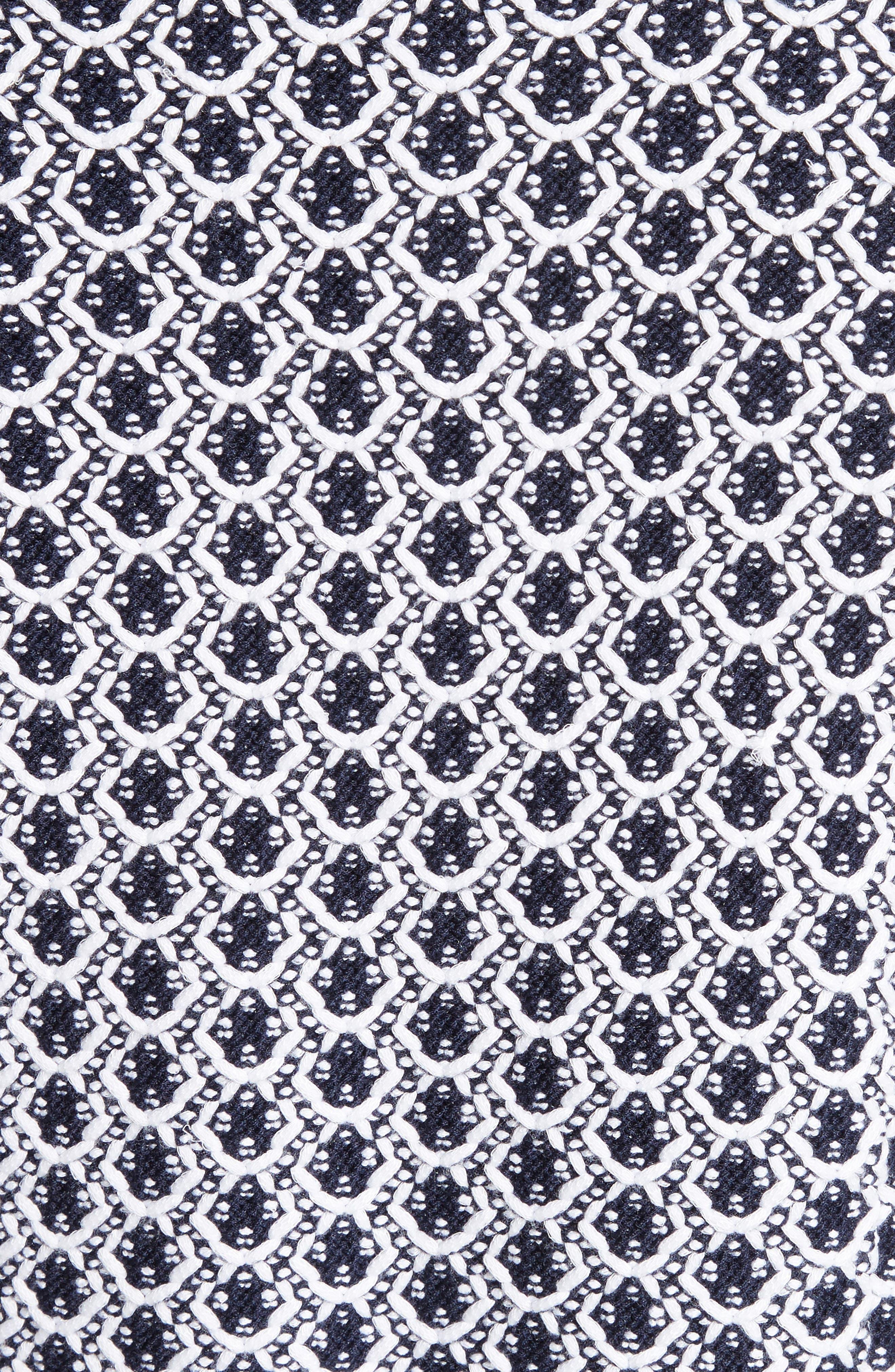 Aadi Tweed Knit Jacket,                             Alternate thumbnail 6, color,                             400