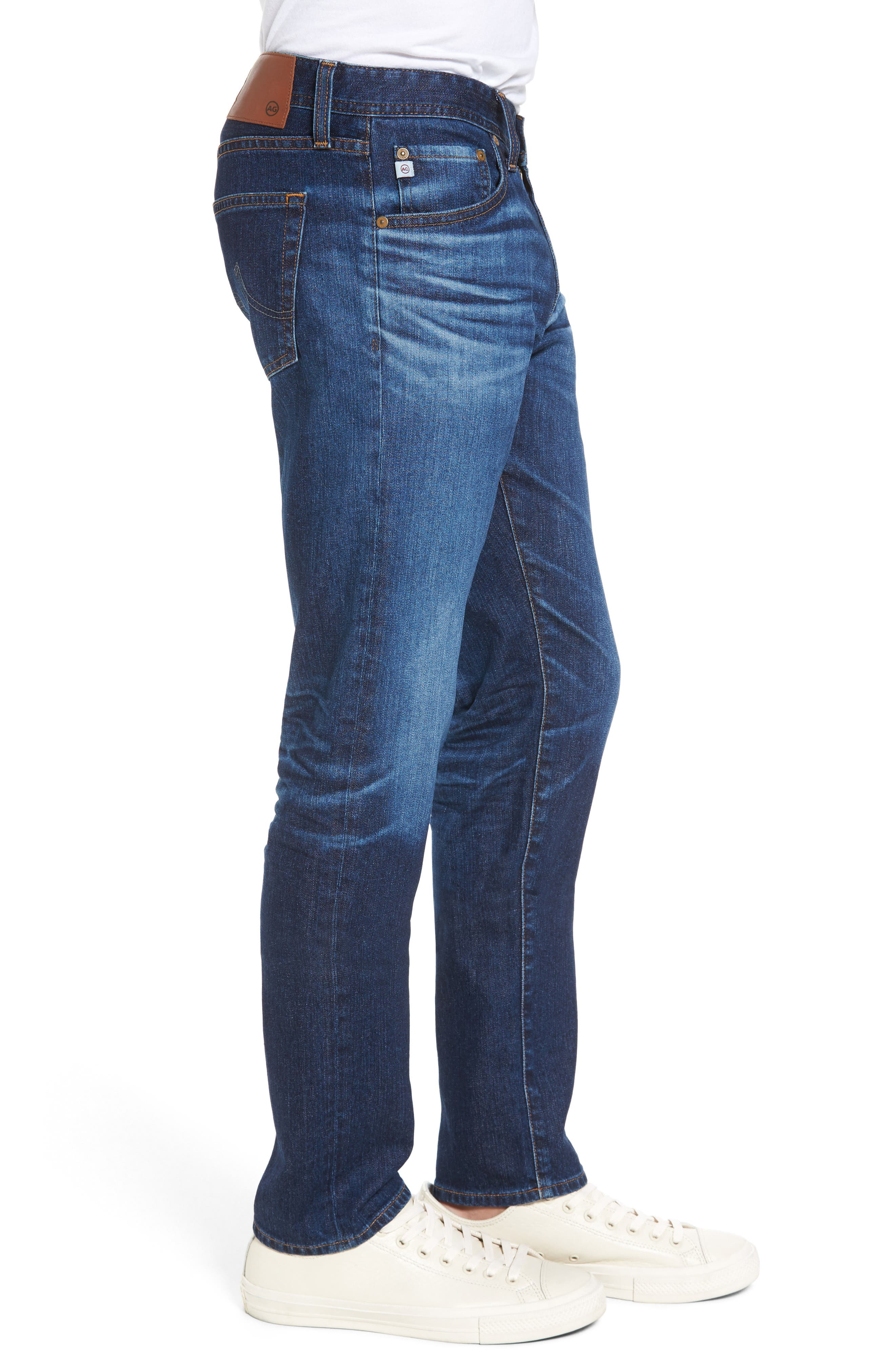 Tellis Slim Fit Jeans,                             Alternate thumbnail 3, color,                             451