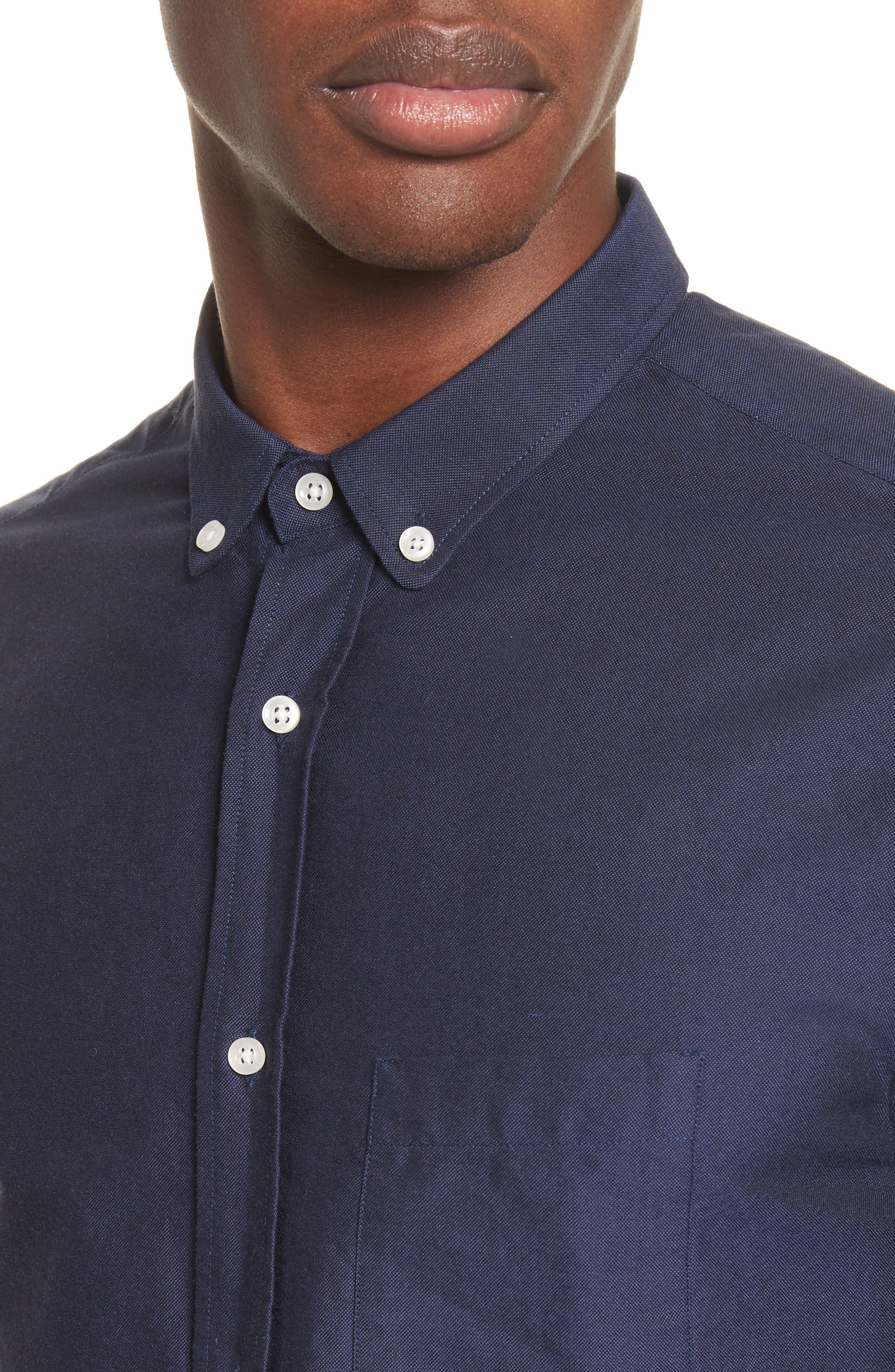 Oxford Shirt,                             Alternate thumbnail 5, color,                             410