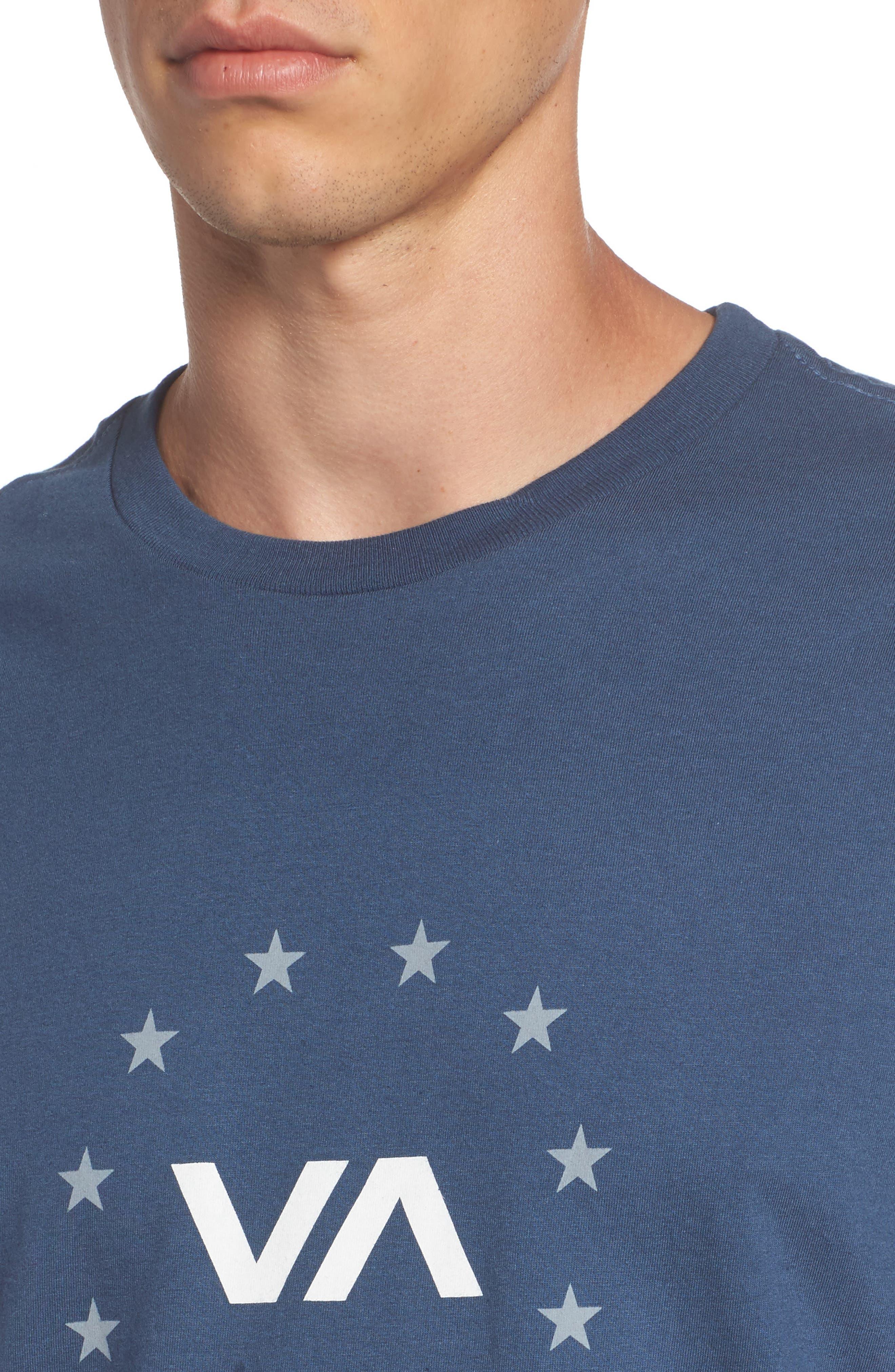 Star Circle Graphic T-Shirt,                             Alternate thumbnail 12, color,