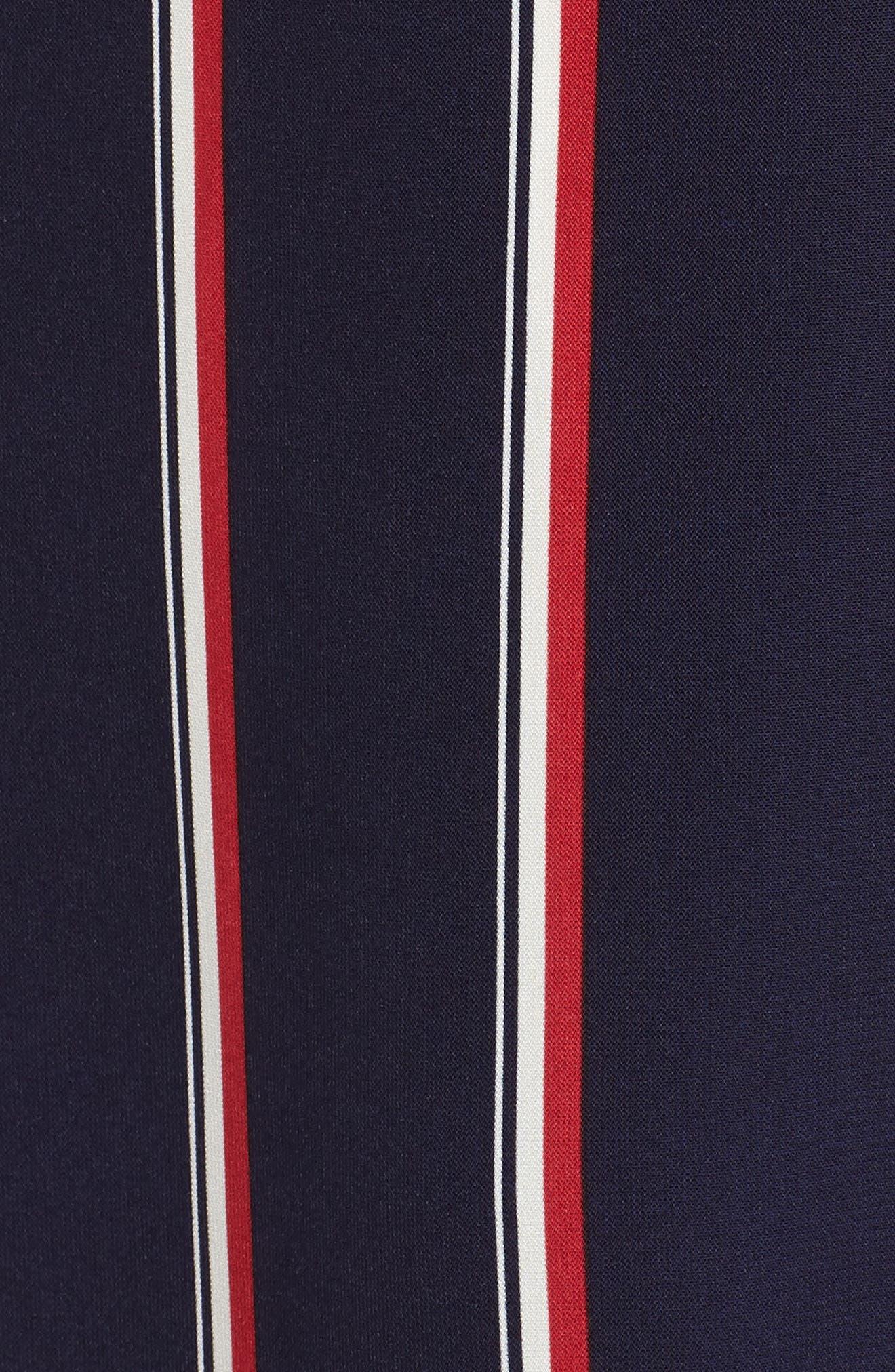 Print Maxi Dress,                             Alternate thumbnail 5, color,                             400