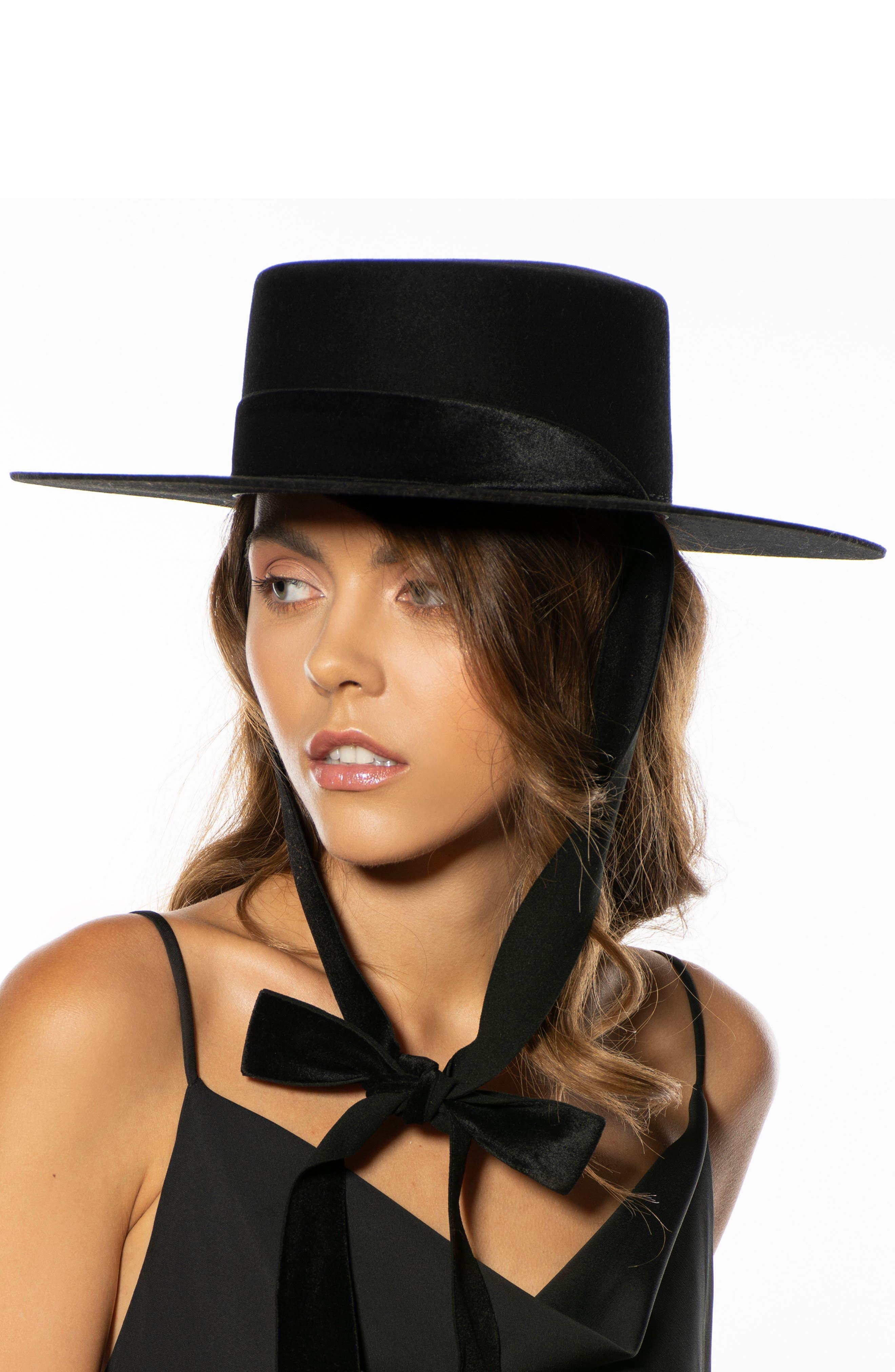 The Heiress Straw Bolero Hat,                             Alternate thumbnail 7, color,