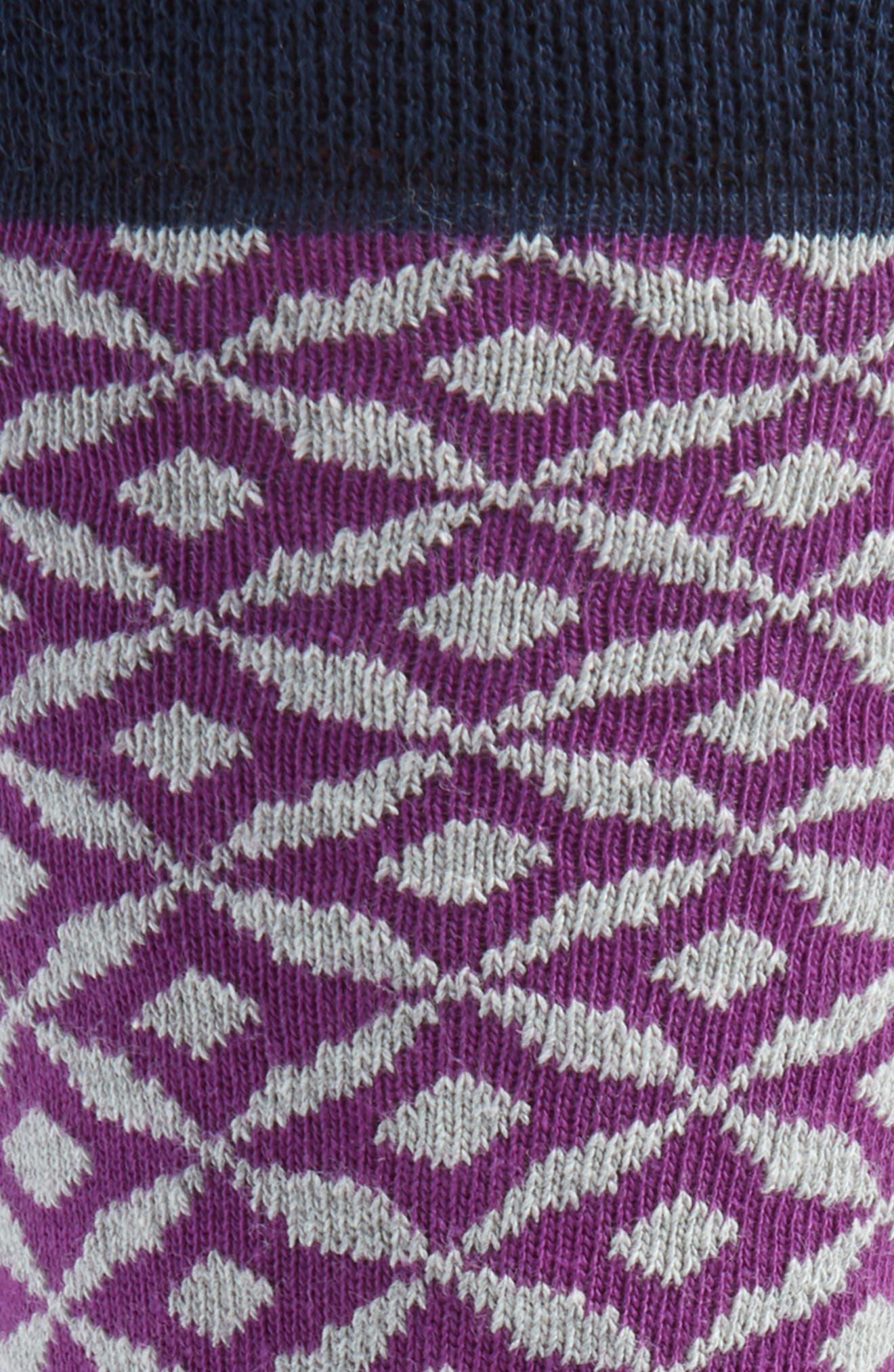 Geometric Socks,                             Alternate thumbnail 3, color,