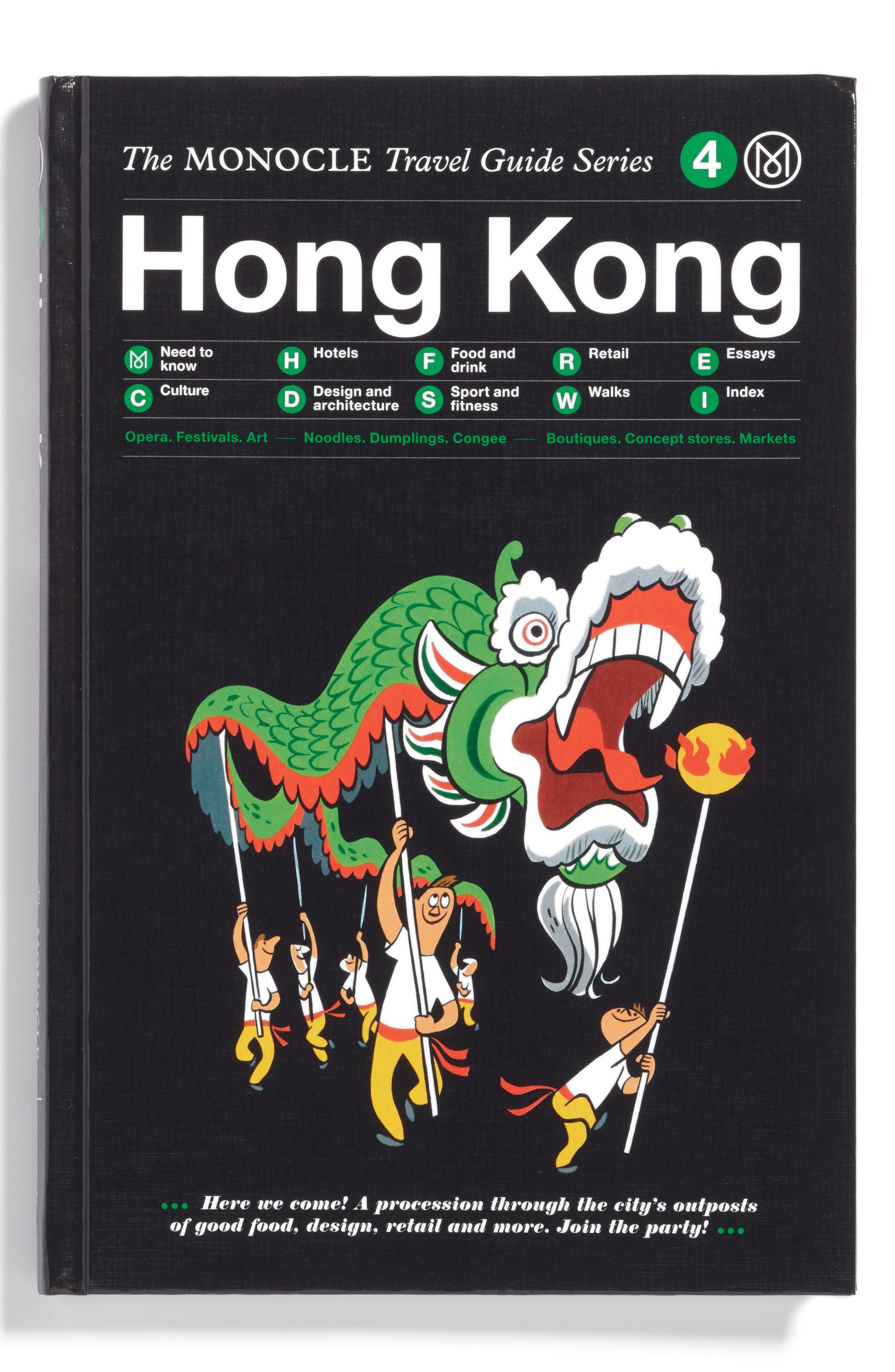 Travel Guide, Main, color, HONG KONG