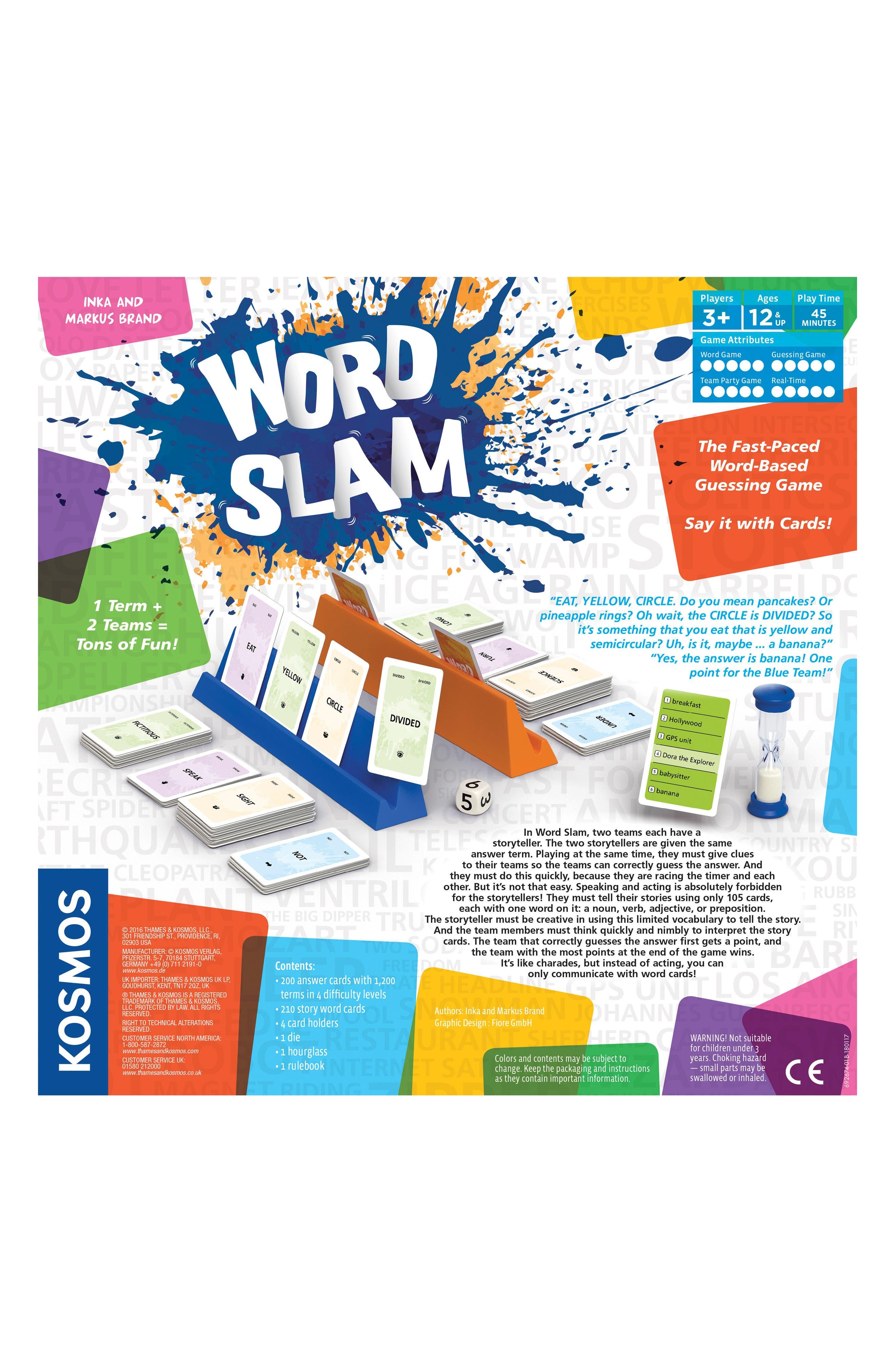 Word Slam Guessing Game,                             Alternate thumbnail 2, color,                             MULTI
