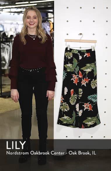 Tropical Print Culottes, sales video thumbnail