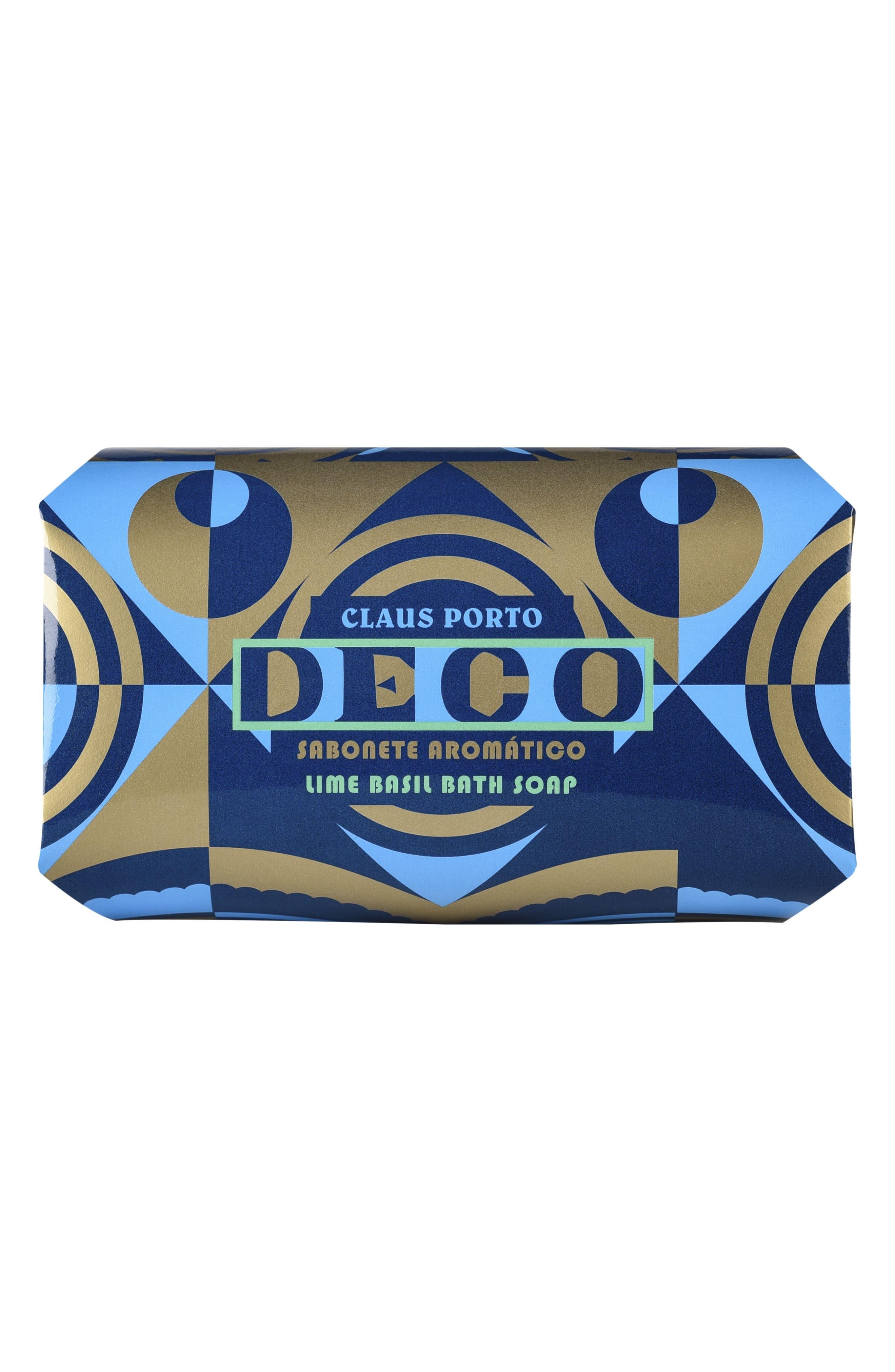 Deco Lime Basil Large Bath Soap,                             Alternate thumbnail 2, color,                             NO COLOR
