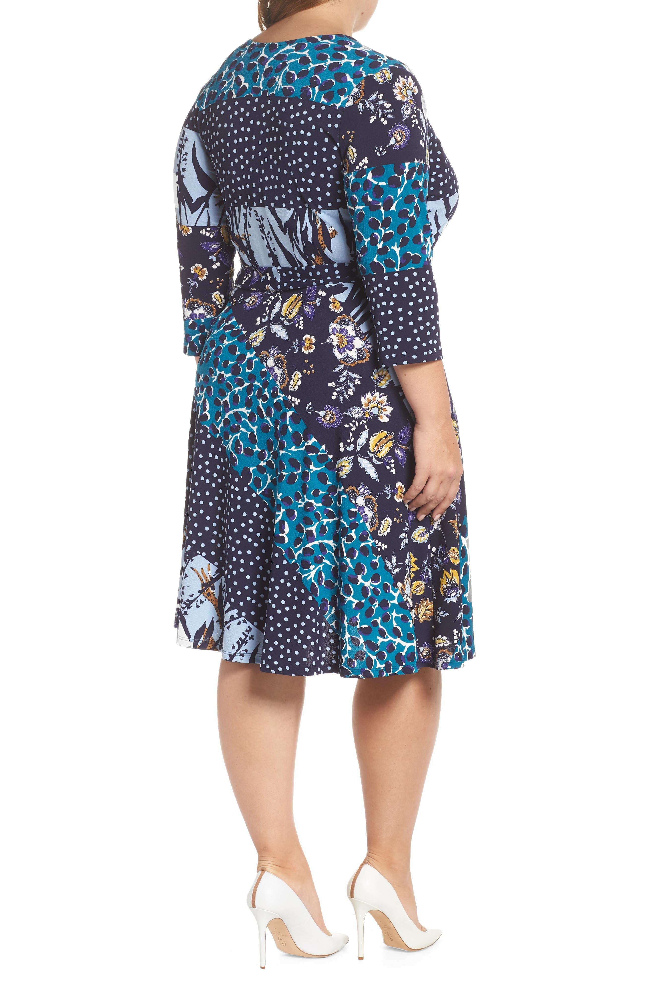 Wrap Dress,                             Alternate thumbnail 2, color,                             MONTAGE
