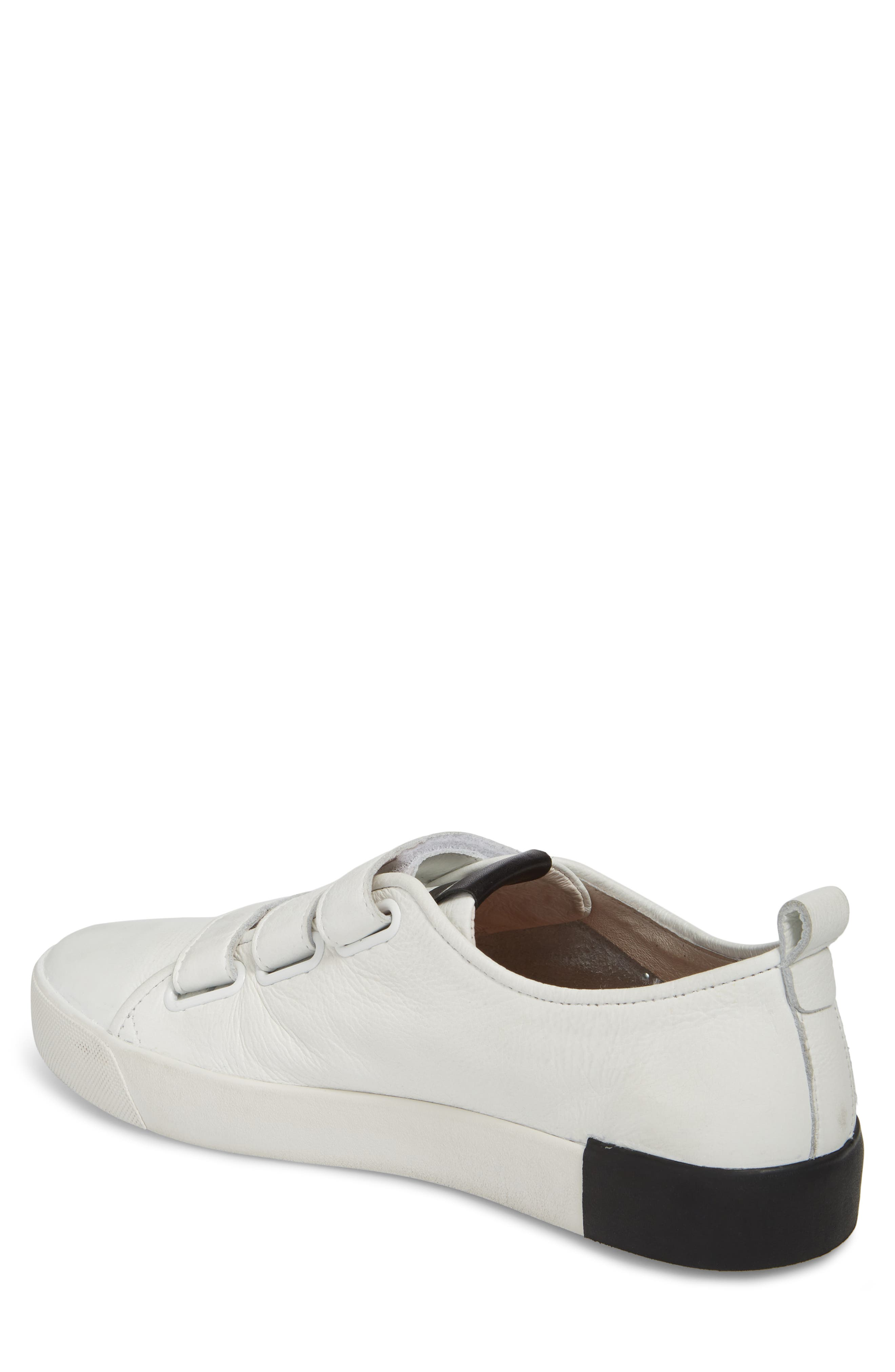 PM41 Low Top Sneaker,                             Alternate thumbnail 2, color,                             WHITE LEATHER