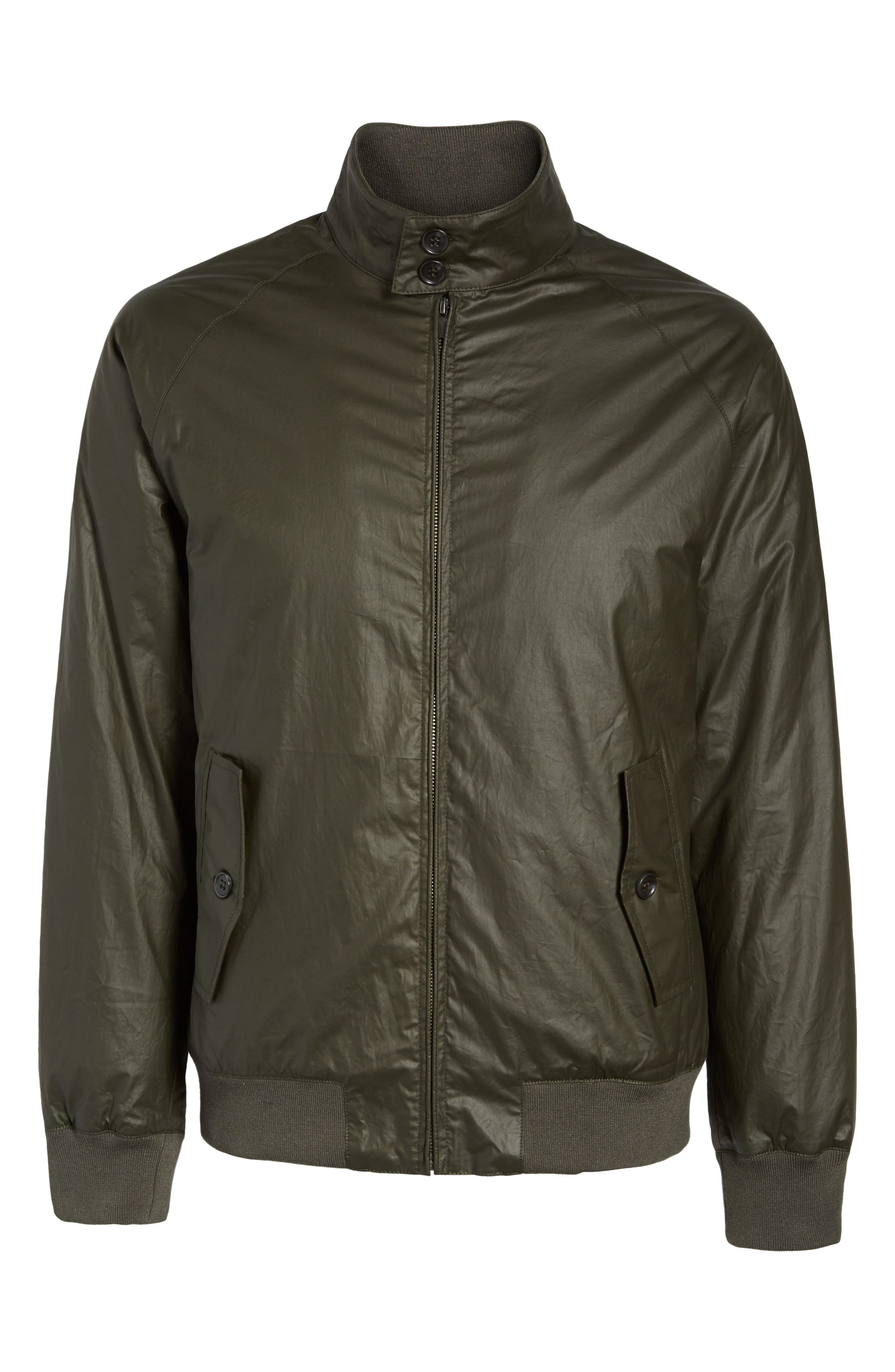 Insulated Harrington Jacket,                             Alternate thumbnail 10, color,