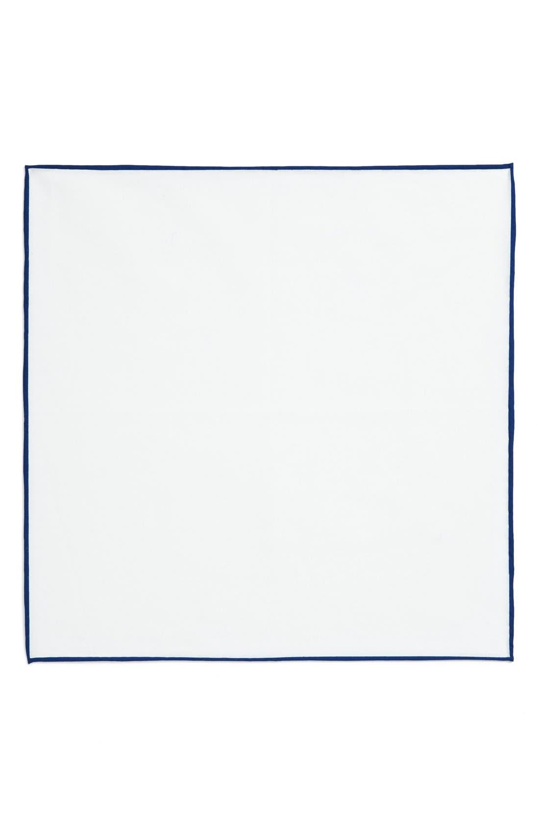 Cotton Solid Pocket Square,                             Alternate thumbnail 16, color,