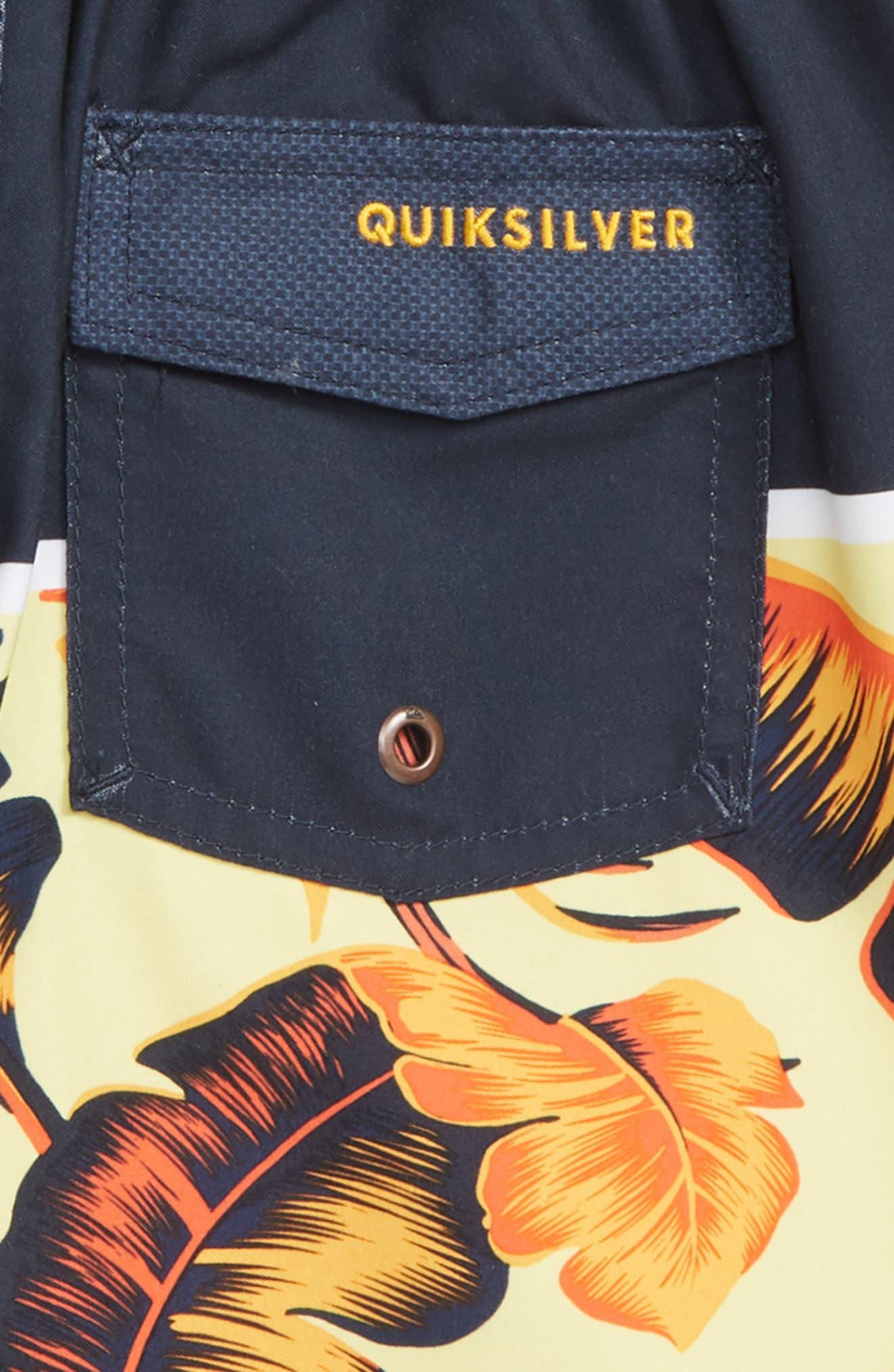 QUIKSILVER,                             Everyday Noosa Board Shorts,                             Alternate thumbnail 3, color,                             NAVY BLAZER