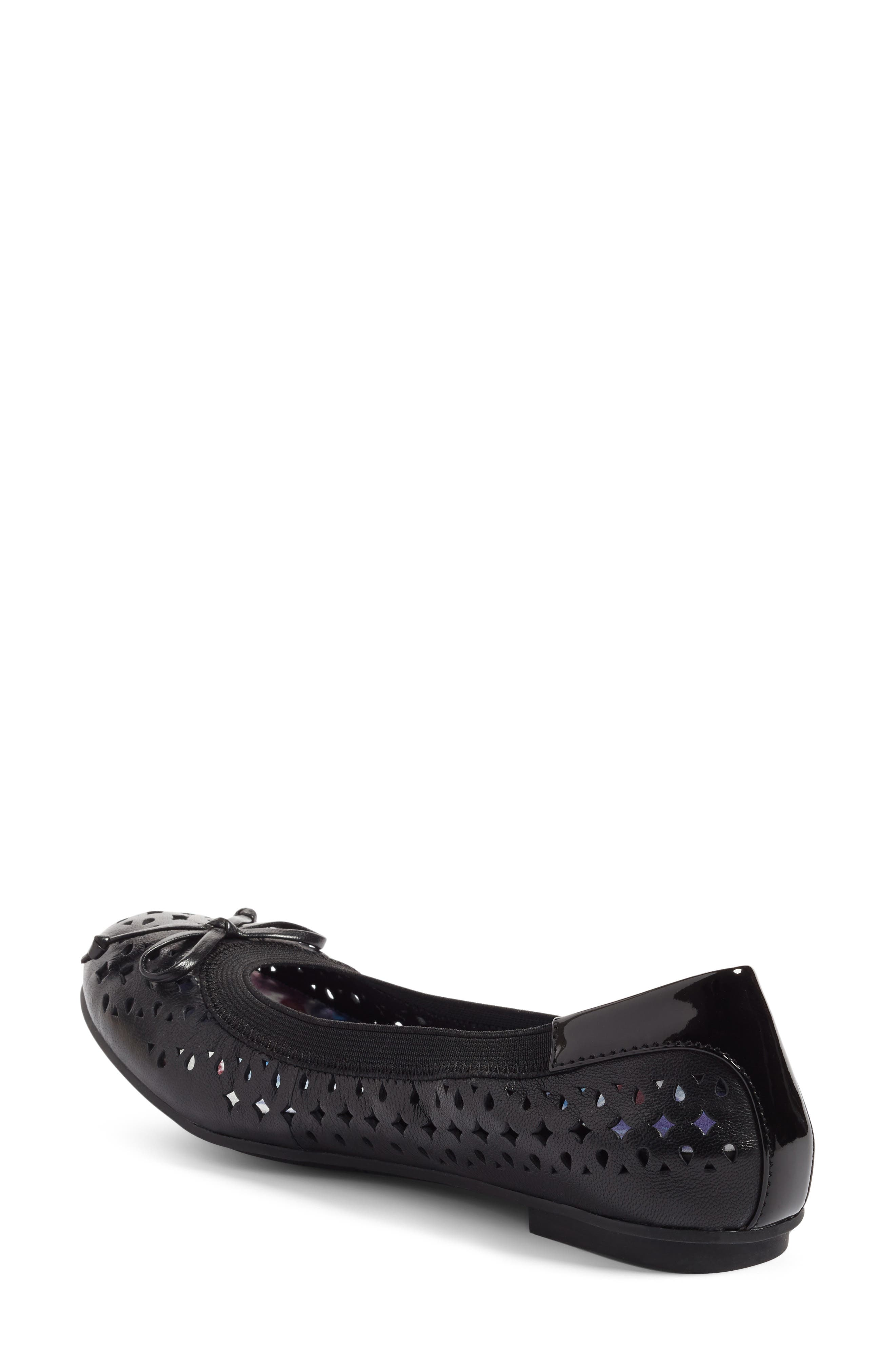 'Surin' Perforated Ballet Flat,                             Alternate thumbnail 12, color,